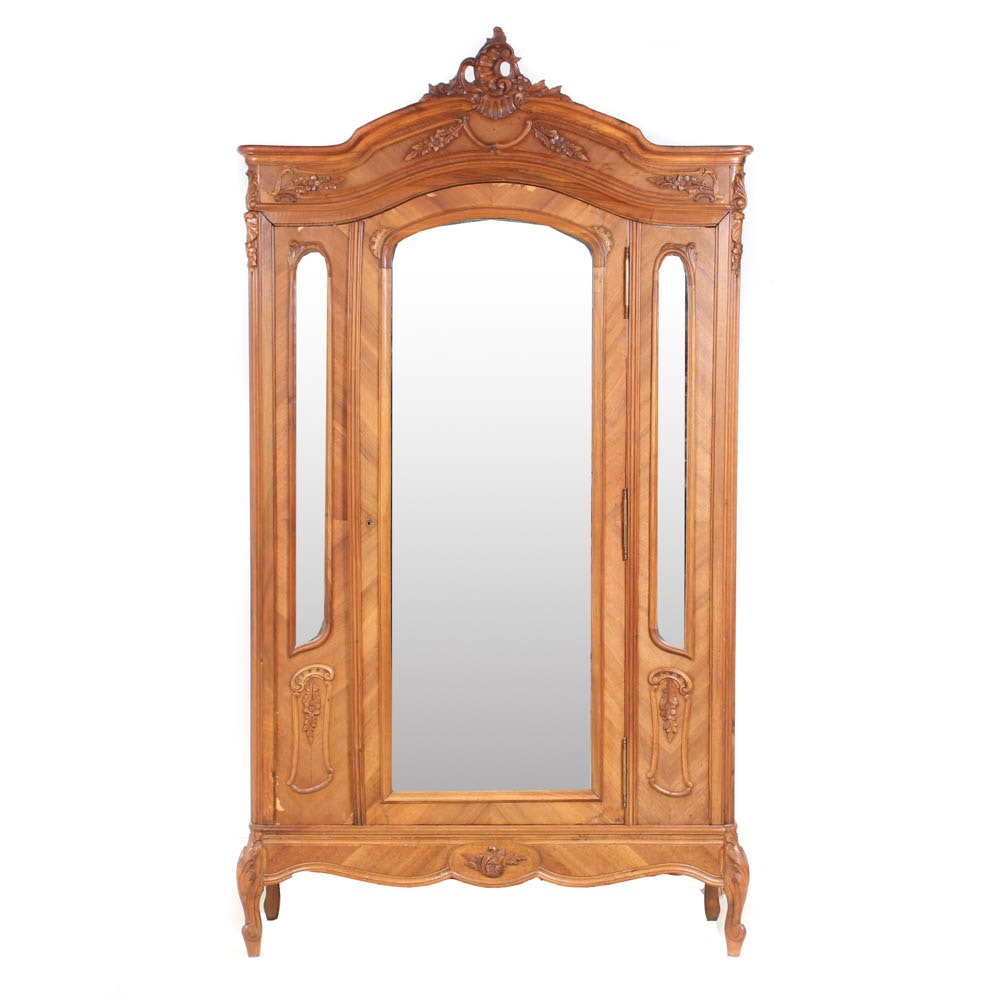 Antique French Provencal Knock-Down Armoire