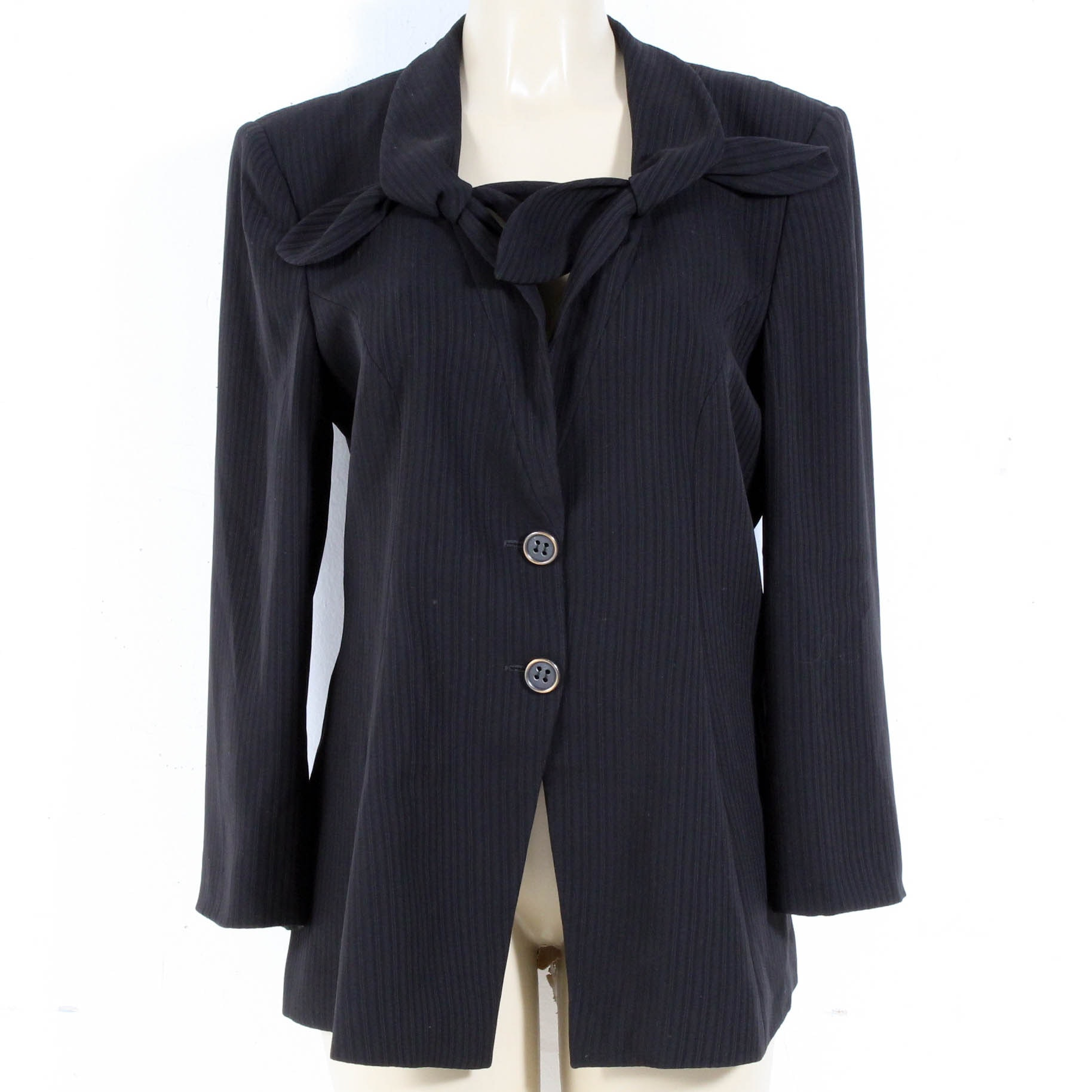 Giorgio Armani Black Suit Jacket, Made in Italy