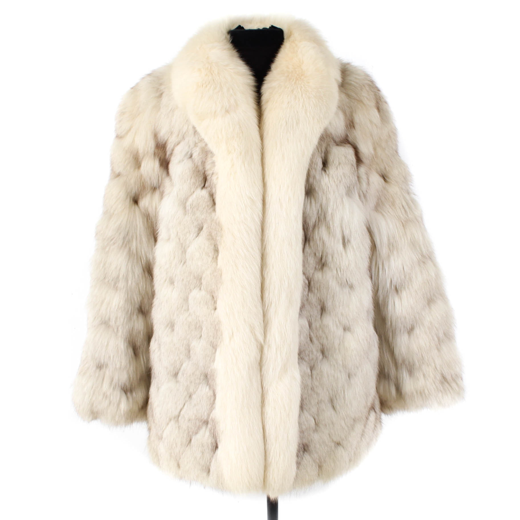 Saga Fox Blue Fox Fur Coat