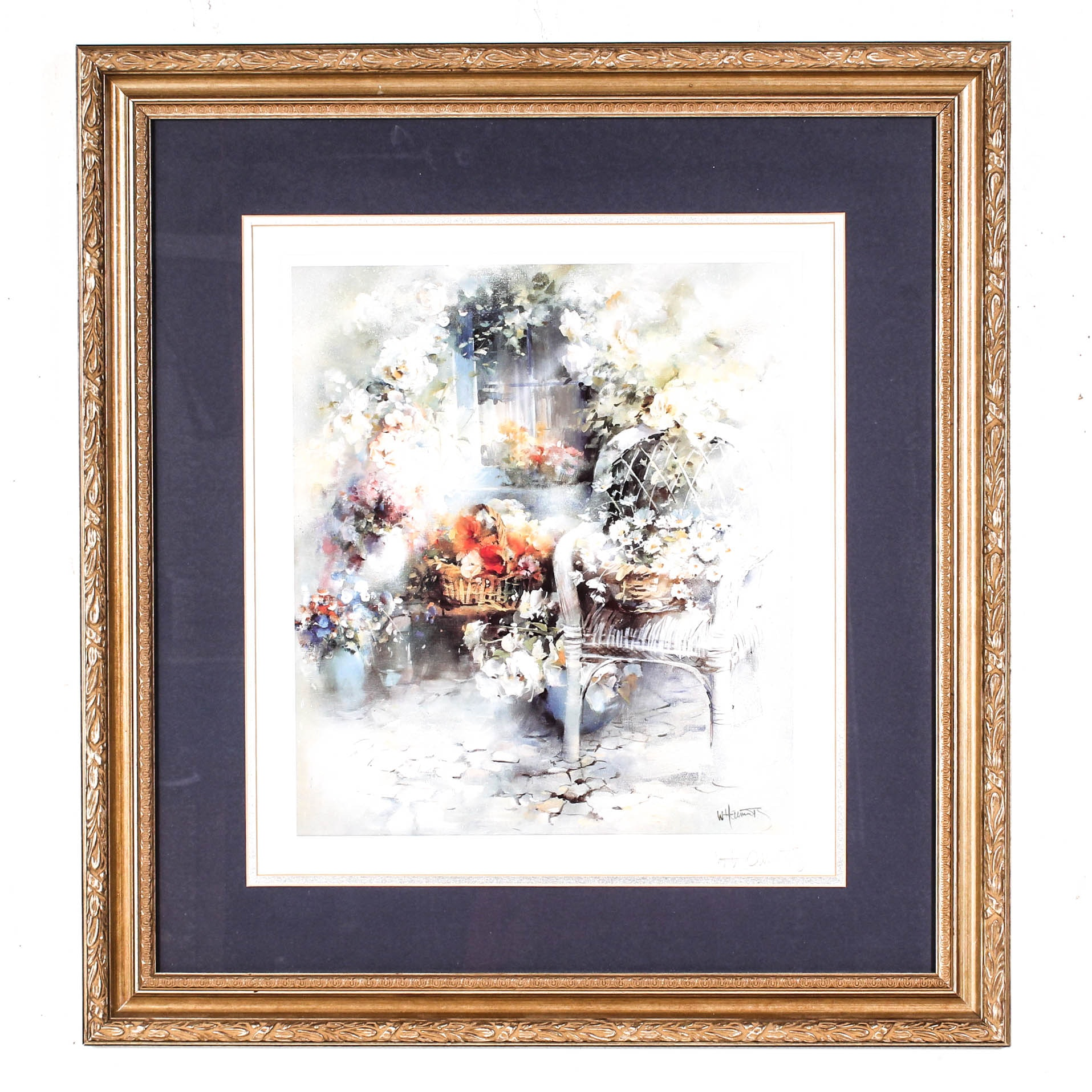 """Magic Moment"" Signed Offset Lithograph After Willem Haenraets"