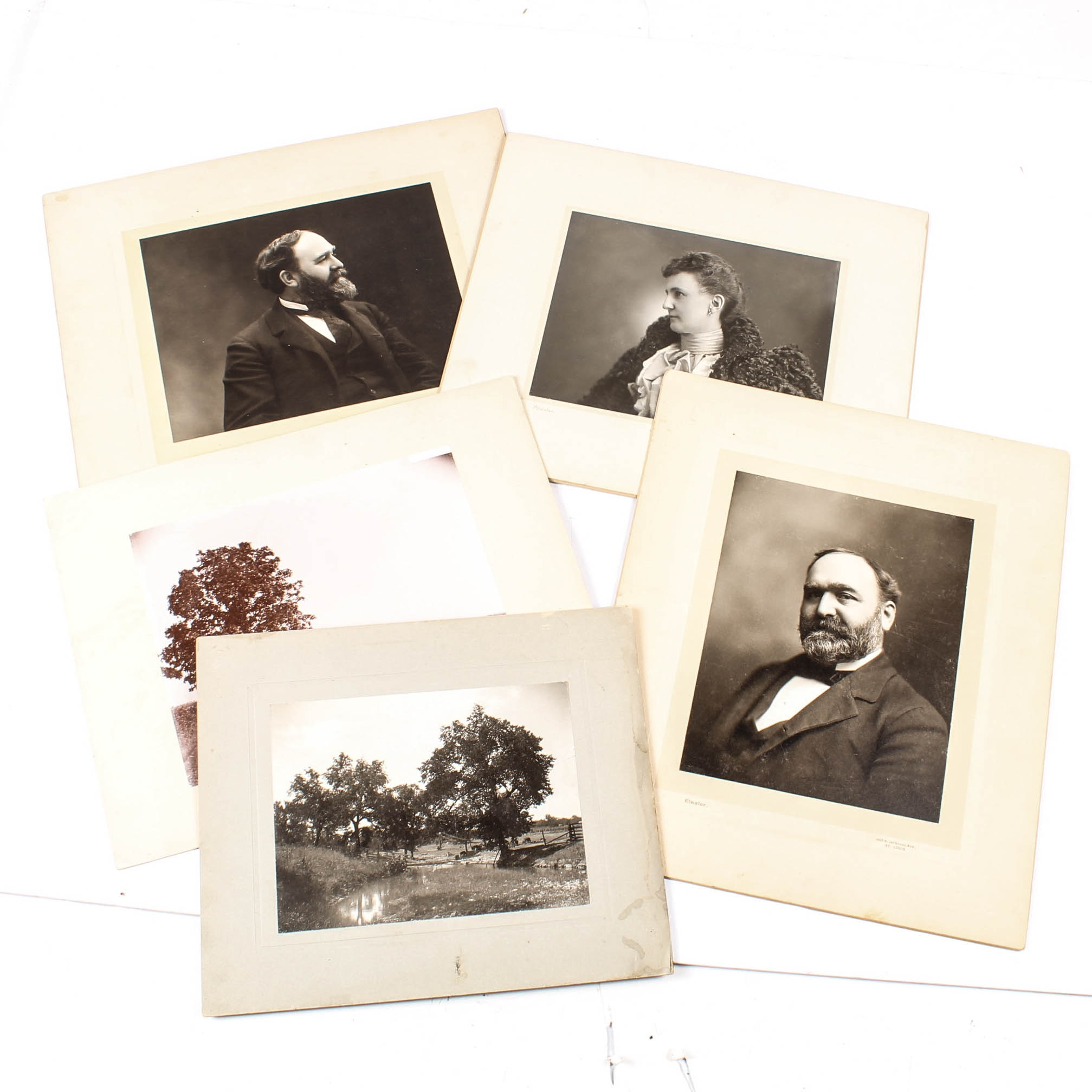 Antique Landscape & Portrait Photographs From the Atwater Studio, St. Louis