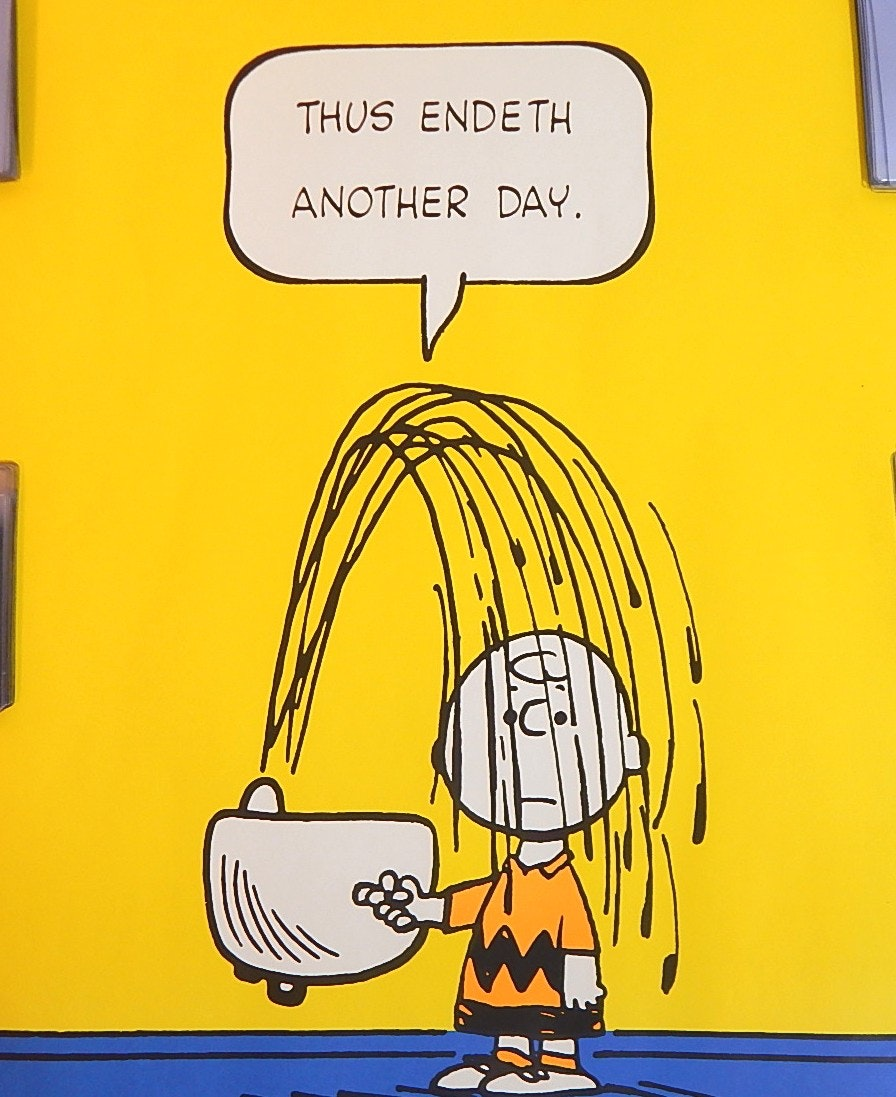 "1950 United Features Syndicate Charlie Brown 20""x28"" Poster"