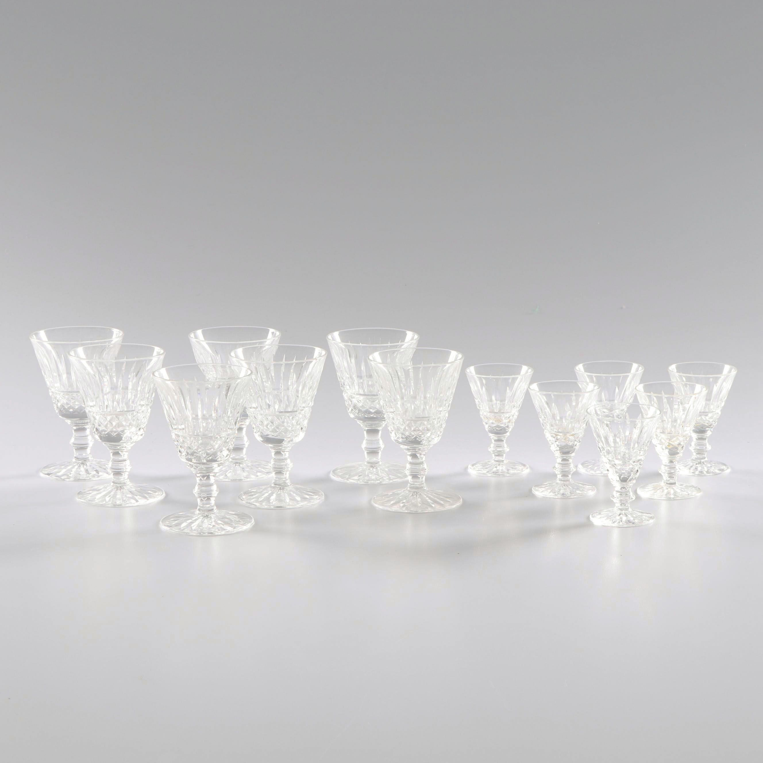 """Waterford Crystal """"Tramore"""" Cordial Glasses"""