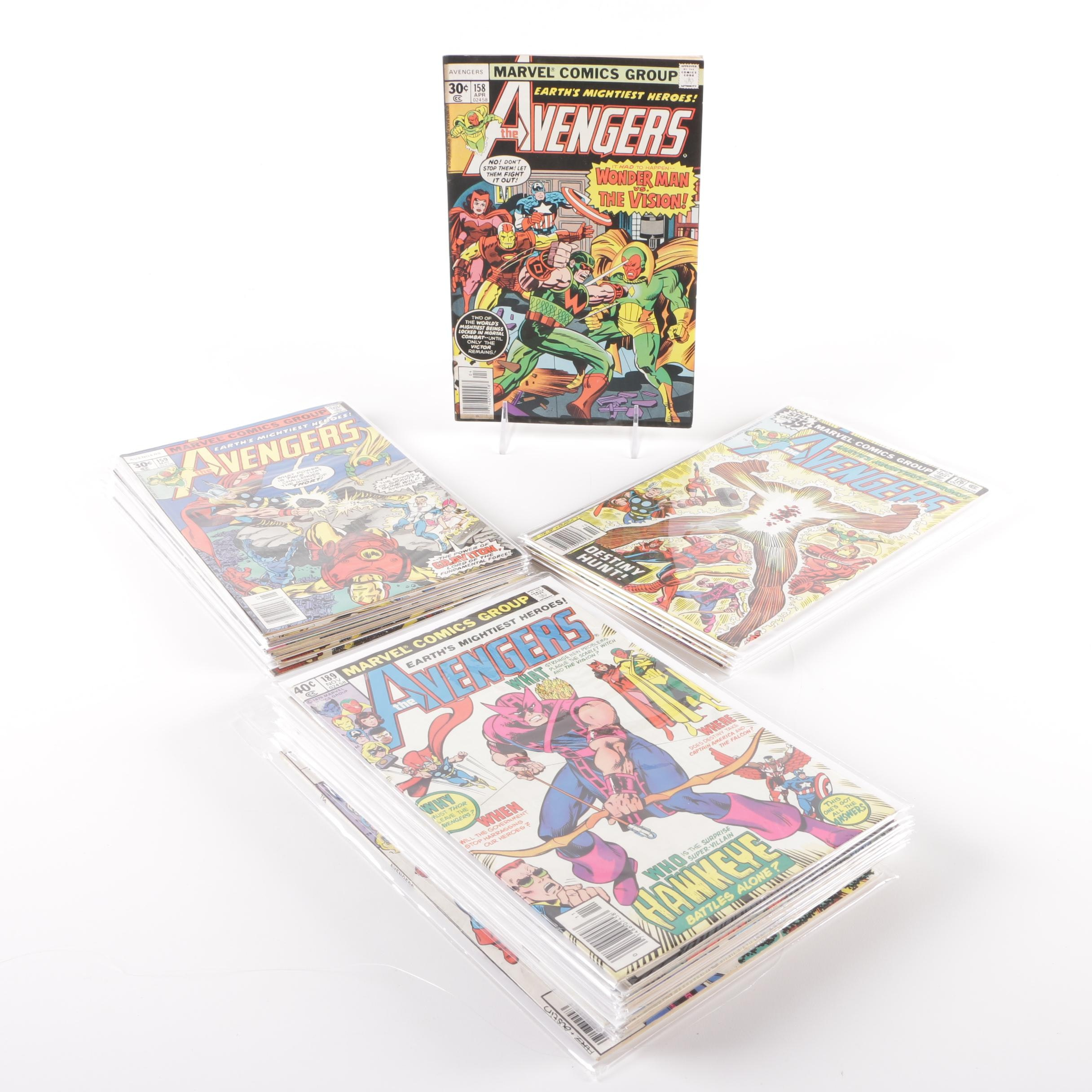 "1976-1980 Bronze Age ""The Avengers"" Comics"