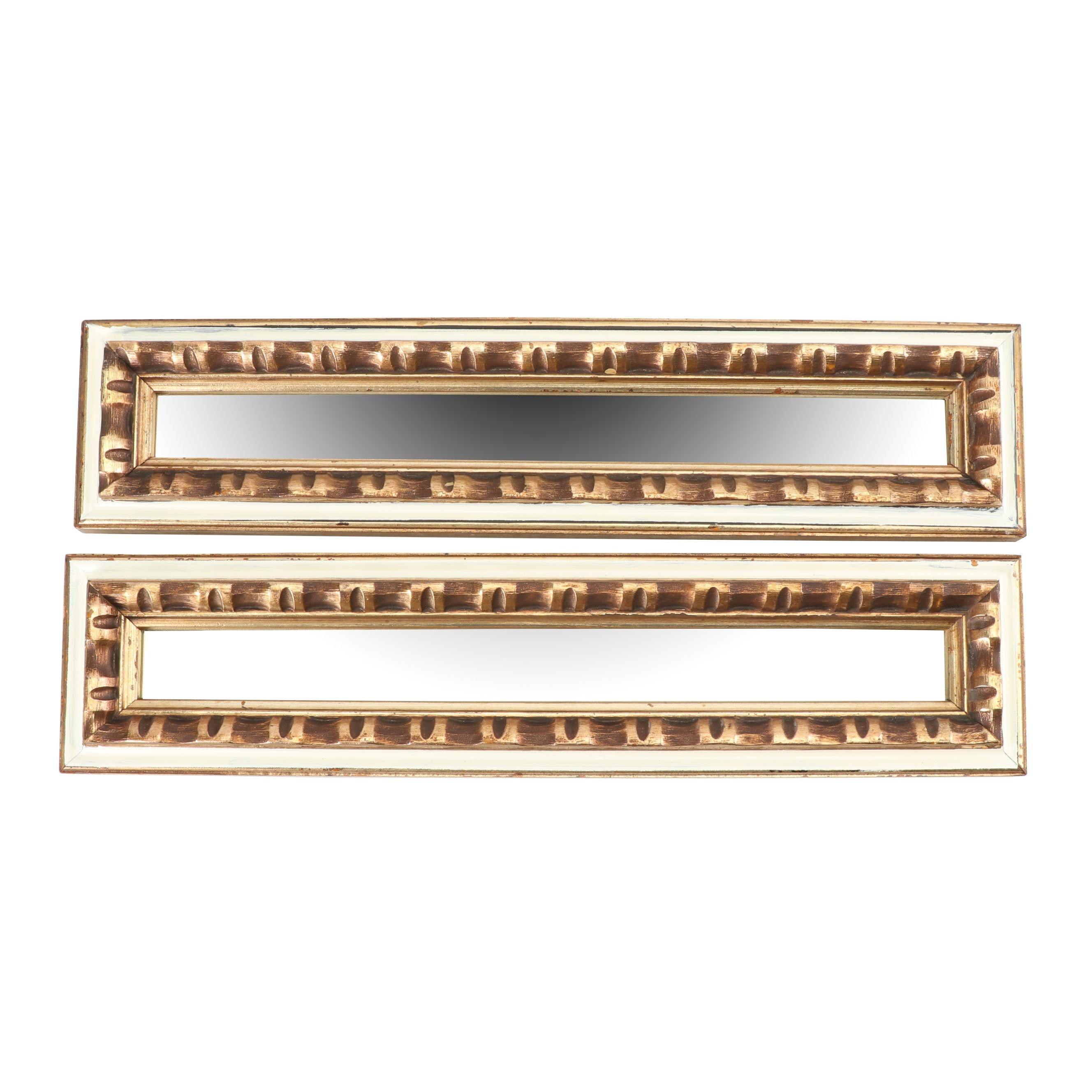 Gold Painted Wood Mirrors, 20th Century