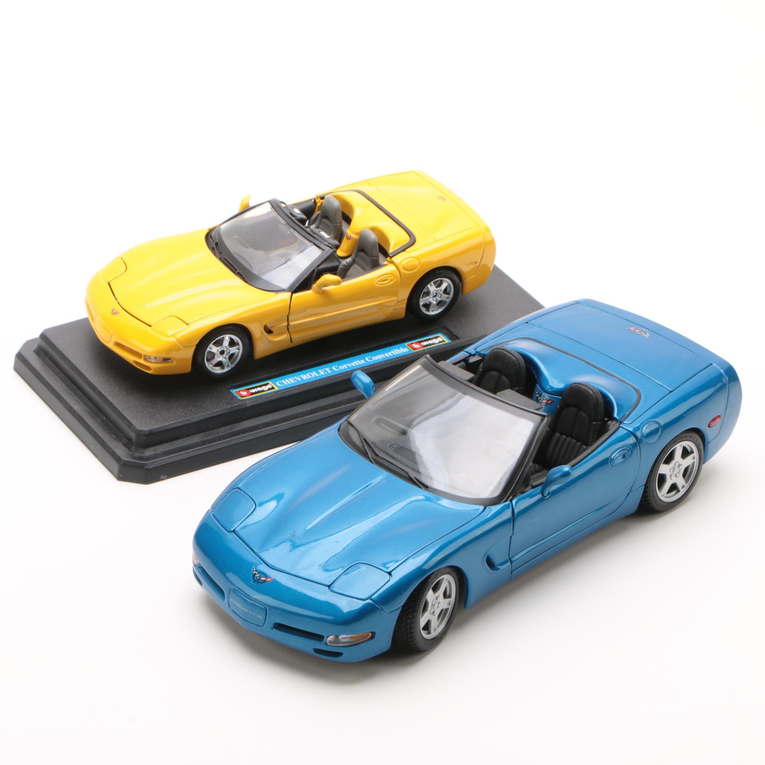 Die-Cast Chevrolet Corvettes