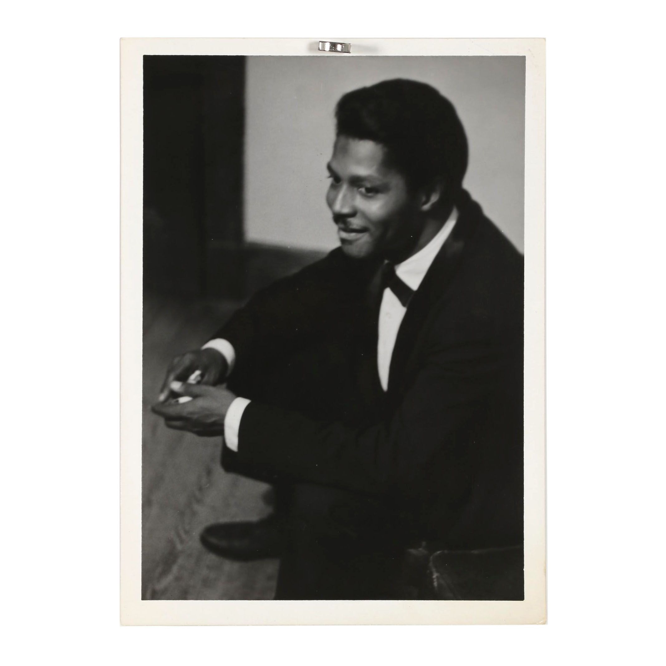 Jack Bradley Silver Gelatin Photograph of Willie Cook