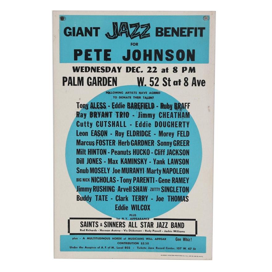 Jazz Advertisement Poster