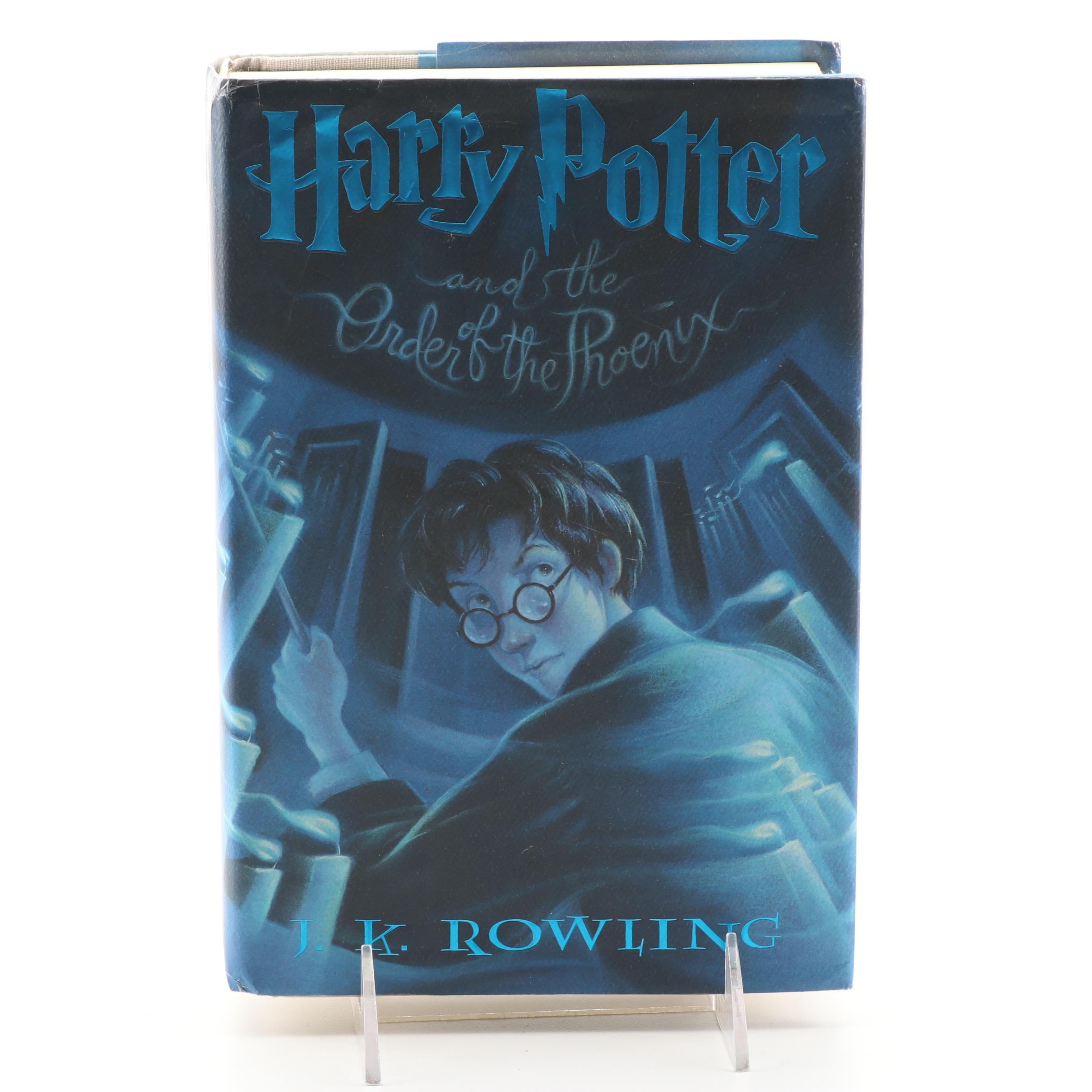"""First American Edition """"Harry Potter and the Order of the Phoenix"""""""