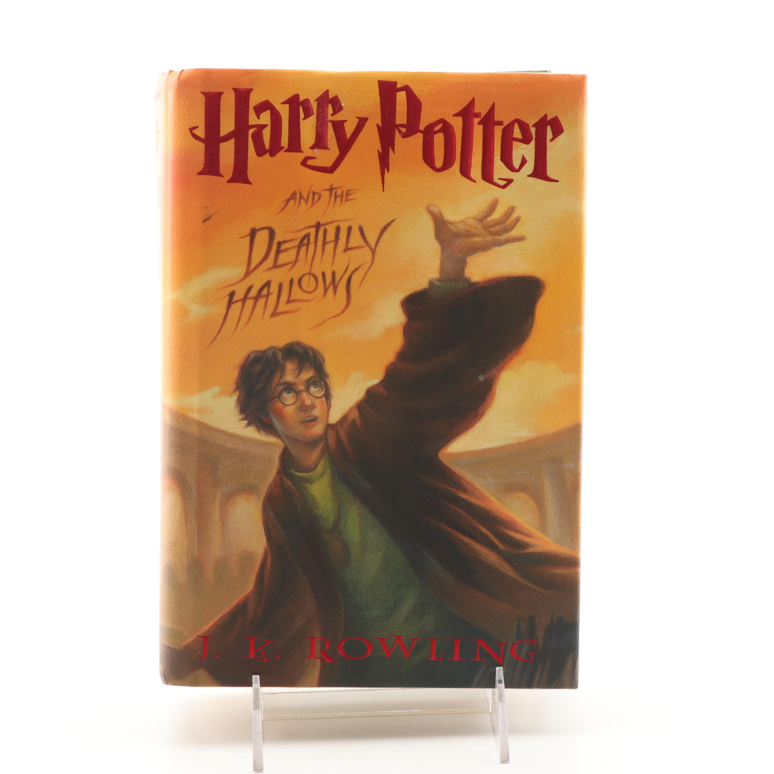 "First American Edition ""Harry Potter and the Deathly Hollows"" by J.K. Rowling"