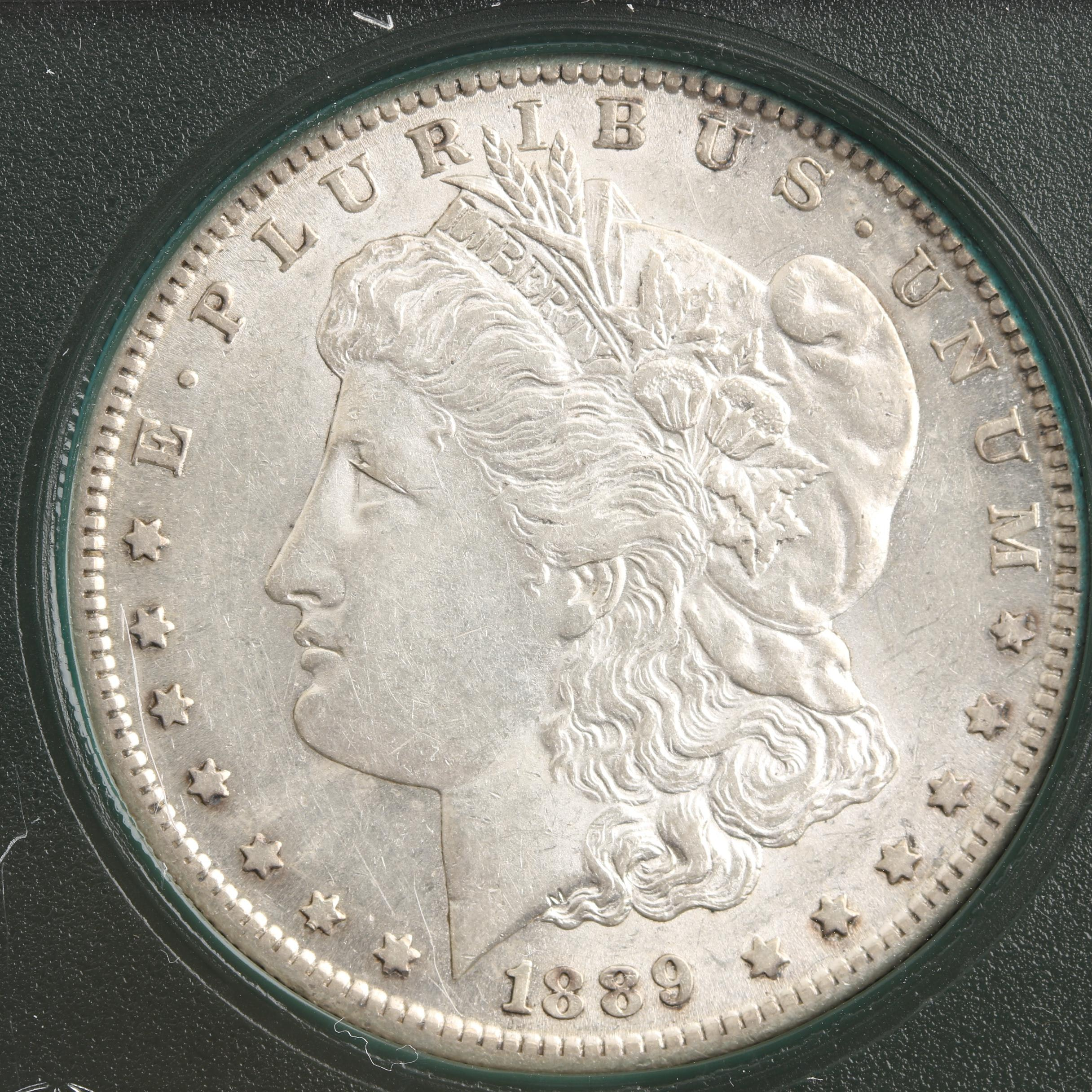Low Mintage 1889-S Silver Morgan Dollar