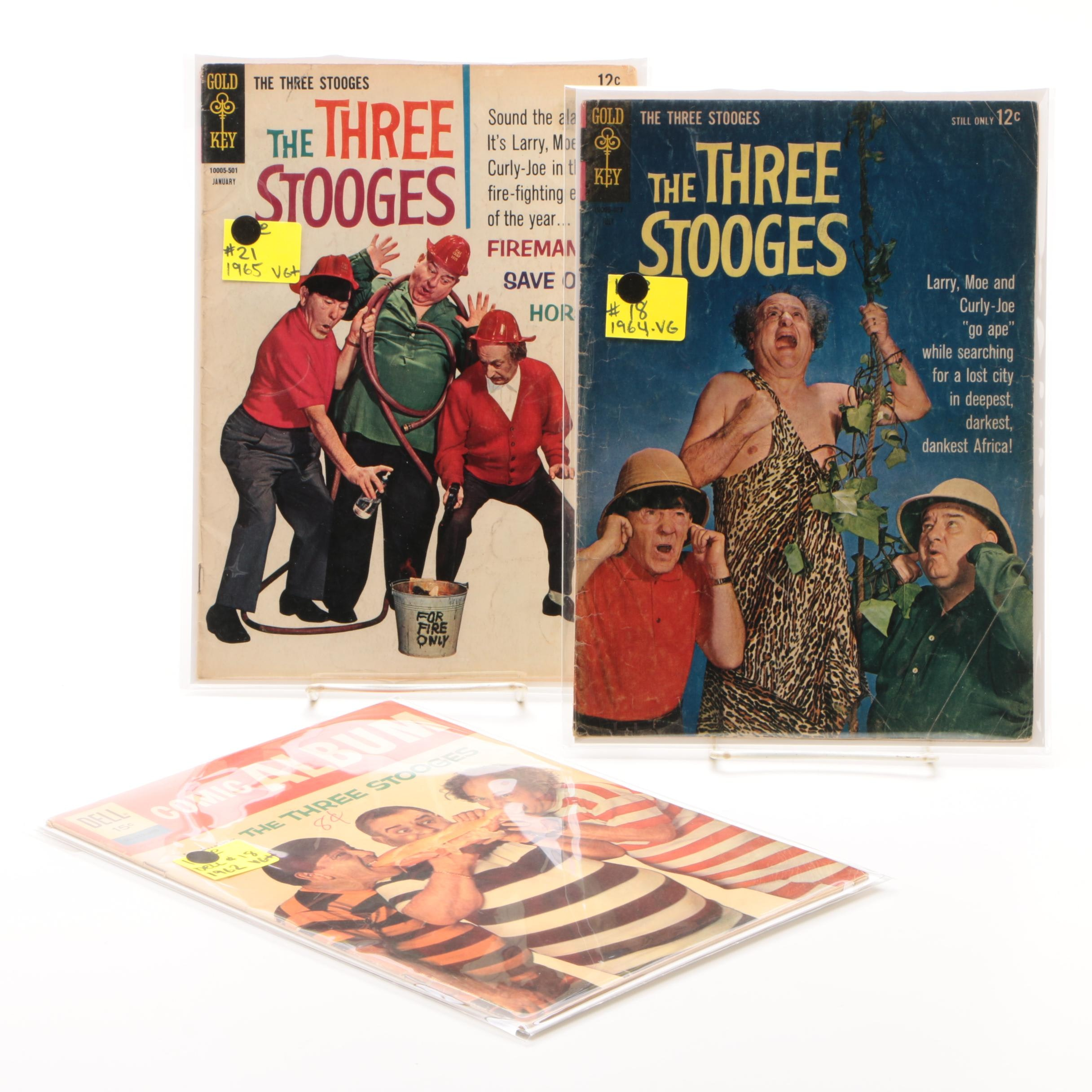 Comics Featuring The Three Stooges