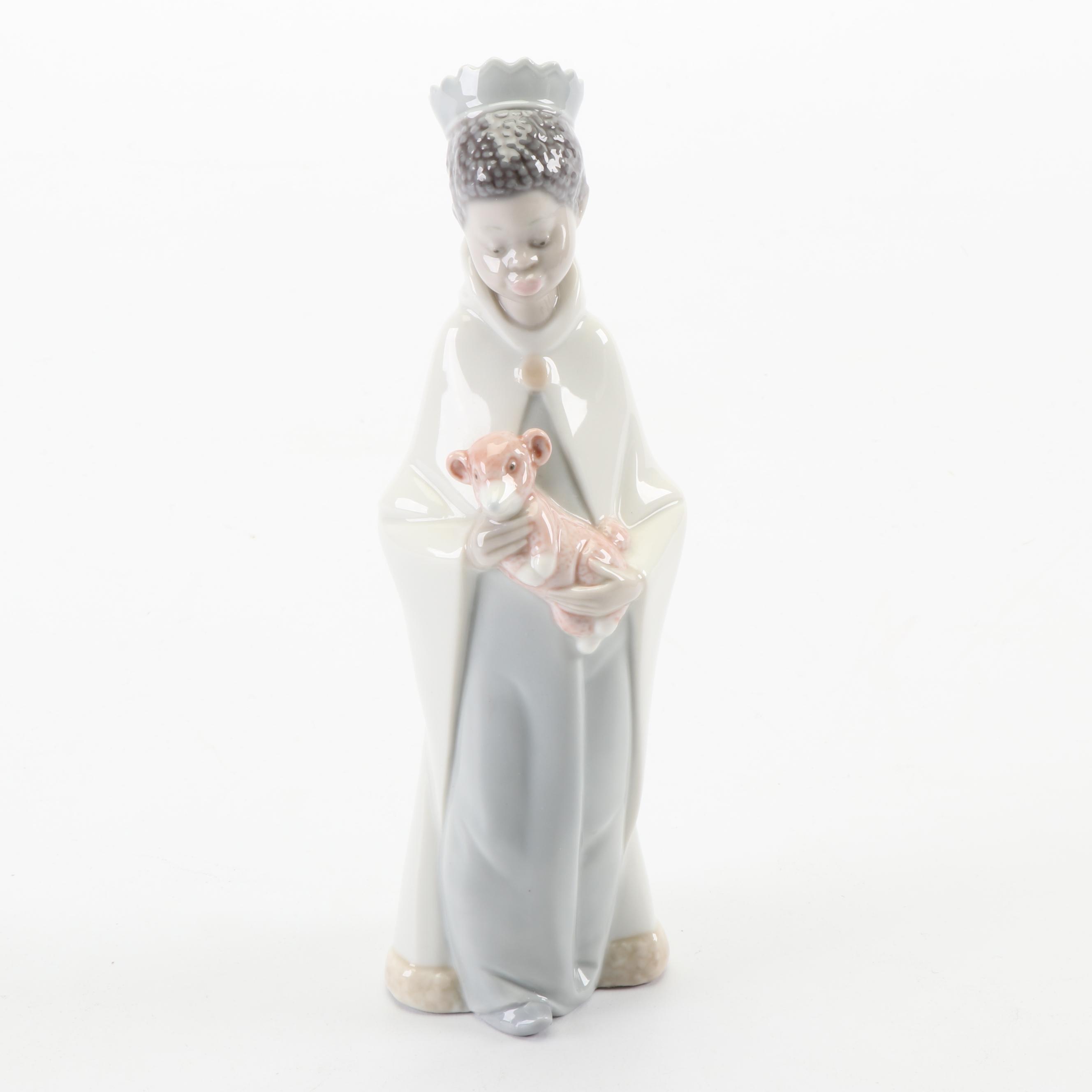 """Lladró """"King Balthazar"""" Porcelain Figurine"""