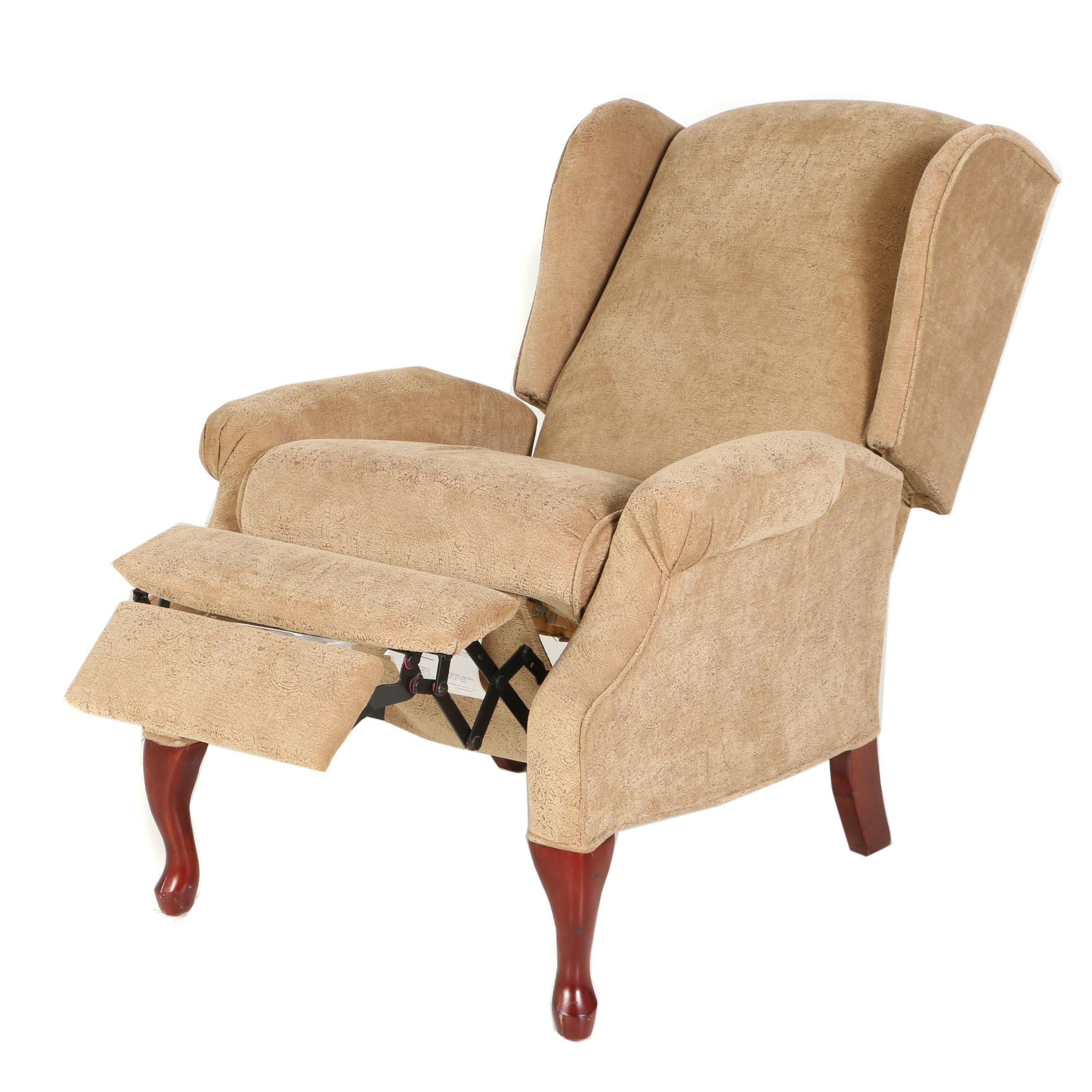Contemporary Upholstered Reclining Armchair by Lane