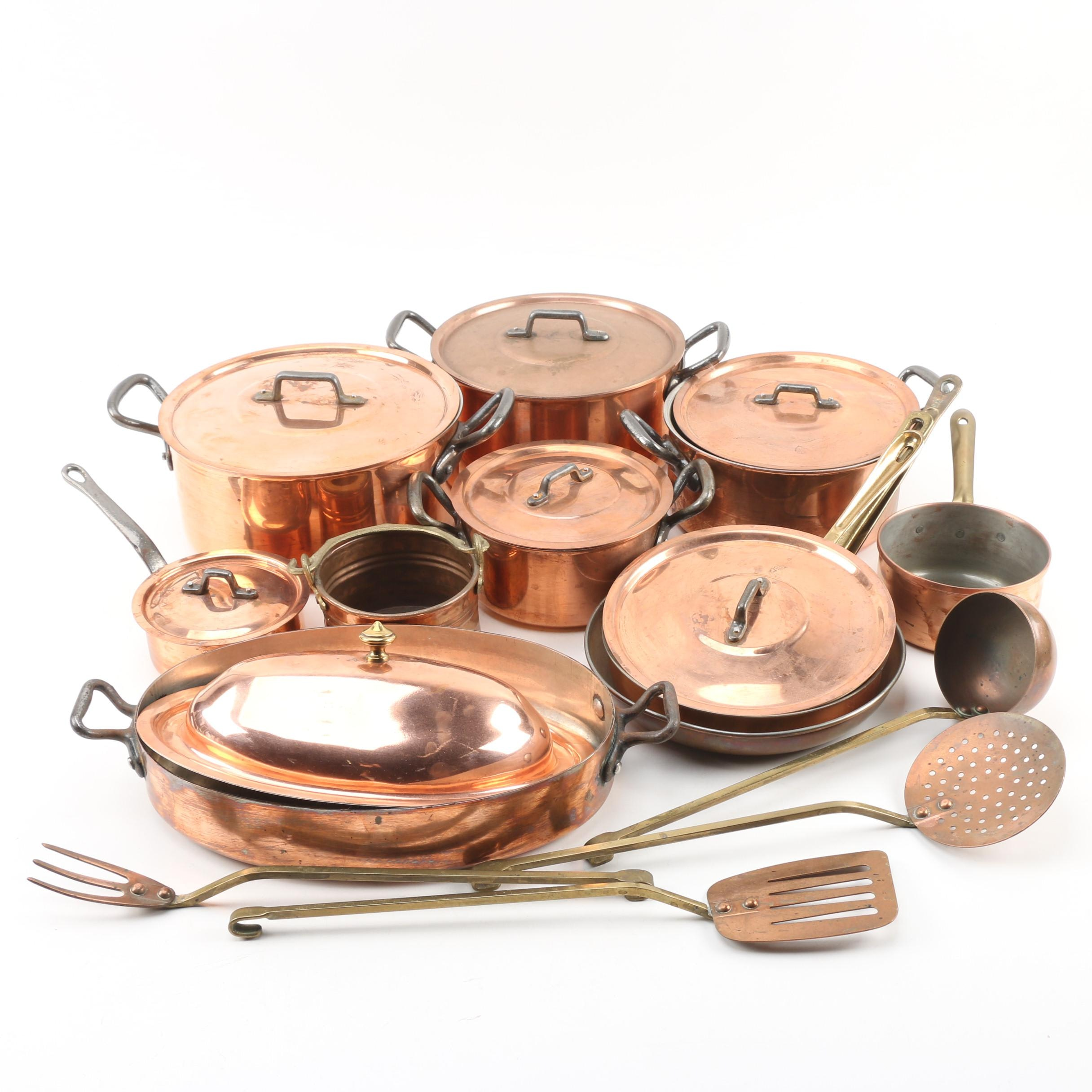 Copper Cookware and Utensils