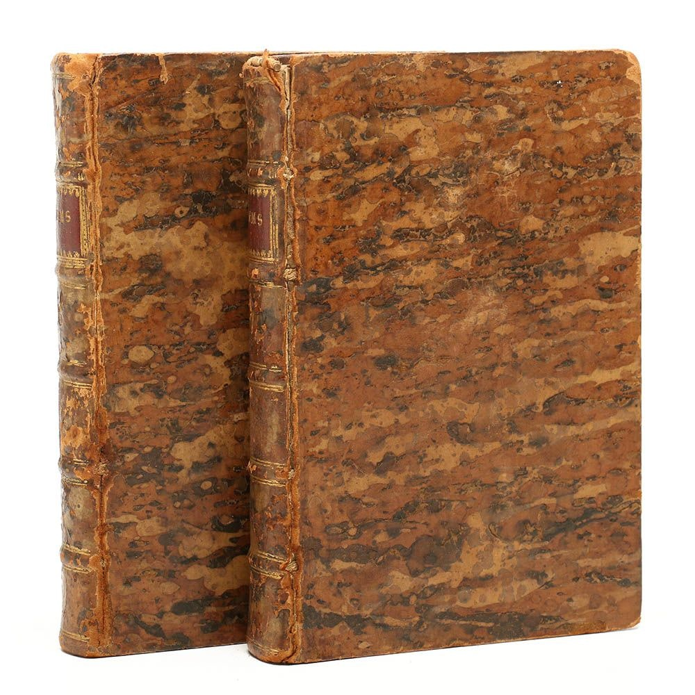 "1768 First Edition ""A Collection of Poems in Two Volumes by Several Hands"""