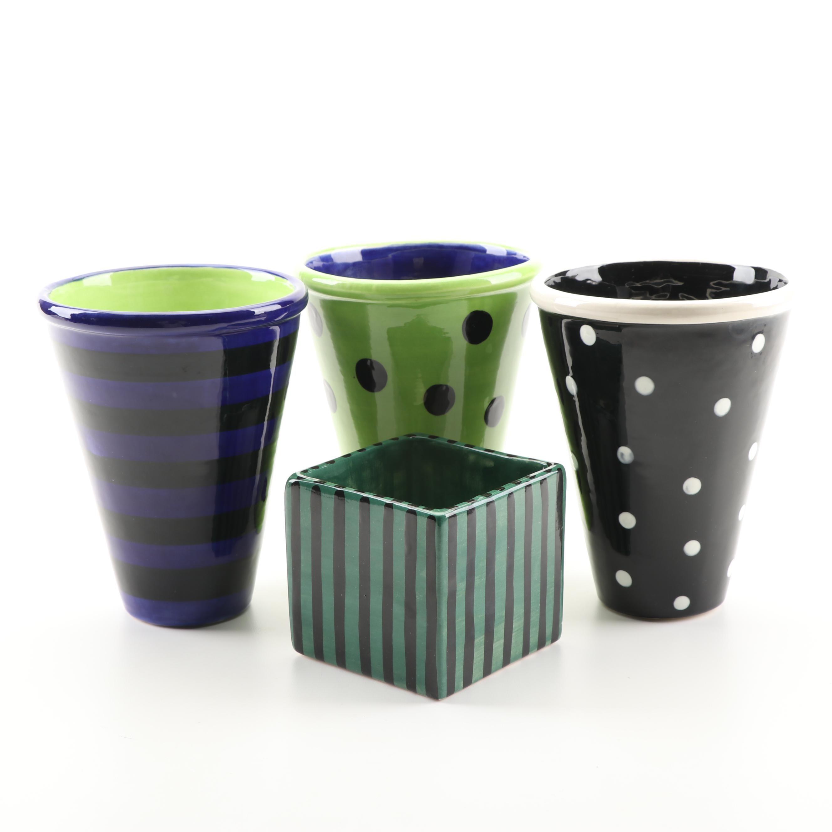 Susan Eslick Art Pottery Vases
