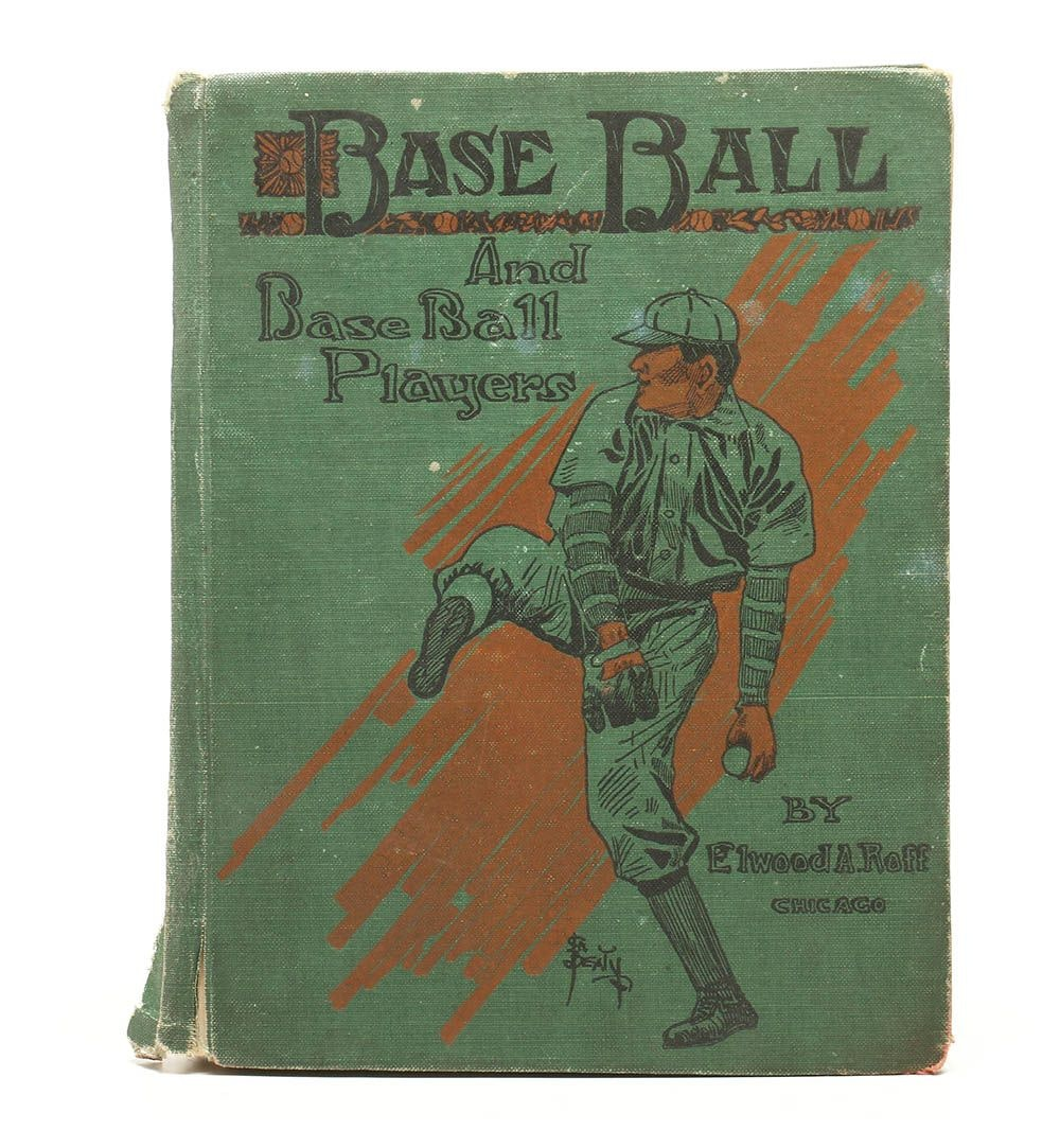 "Rare Self-Published 1912 ""Base Ball and Base Ball Players"" by Elwood Roff"