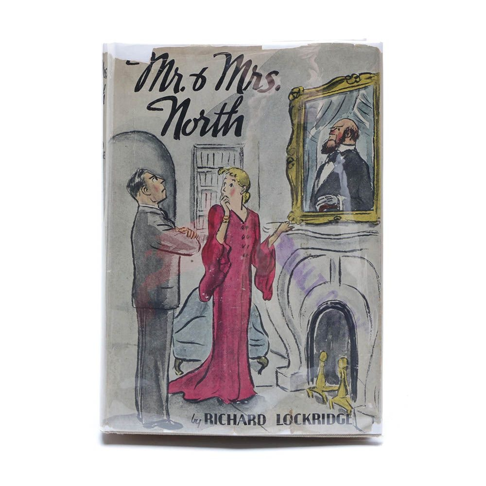 "1936 First Edition ""Mr. & Mrs. North"", MGM Studio Vault Copy"