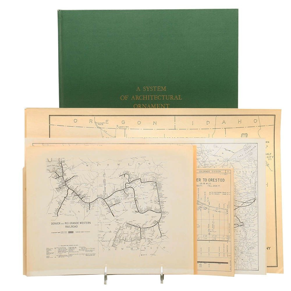 """Facsimile Edition of """"A System of Architectural Ornament"""""""