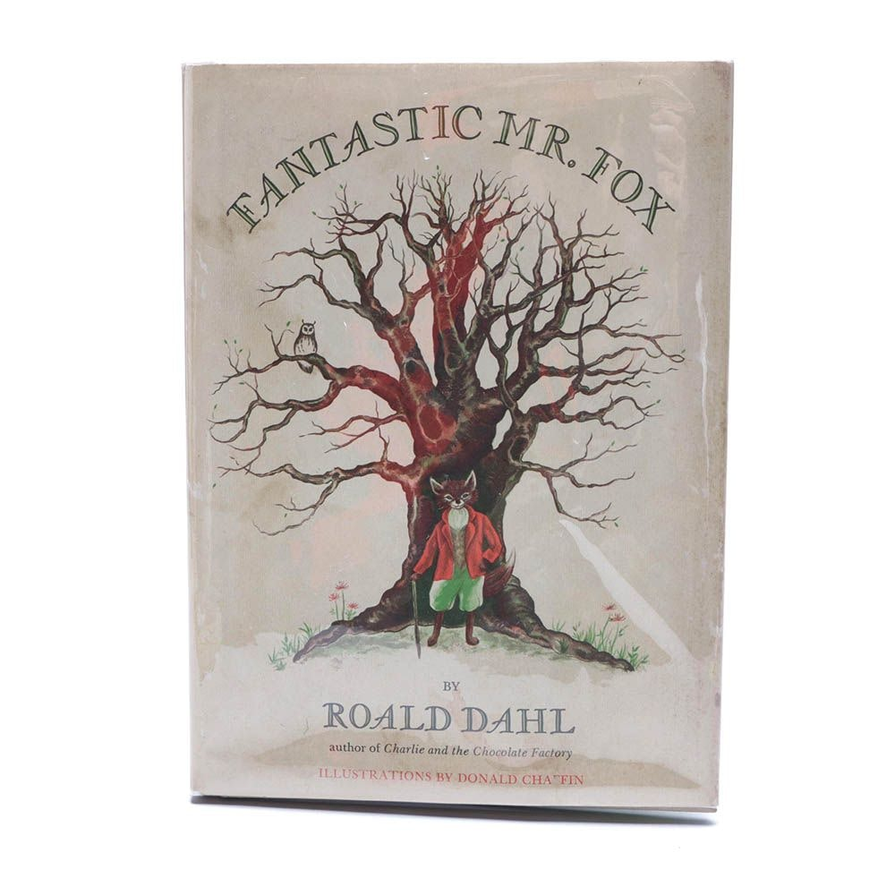 "First Edition ""Fantastic Mr. Fox"" by Roald Dahl, 1970"