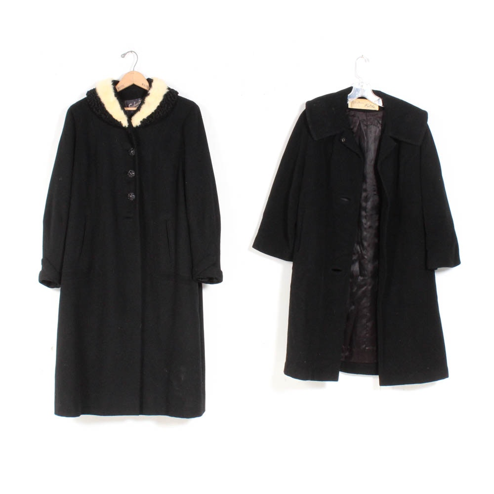 Women's Vintage Wool Coats