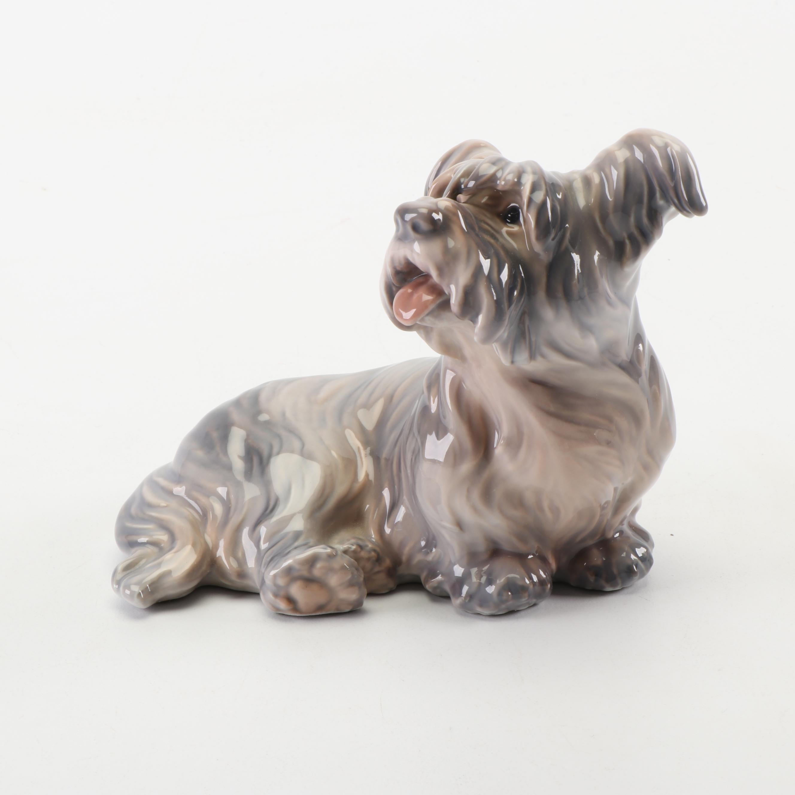 D.J. Copenhagen Porcelain Dog Figurine
