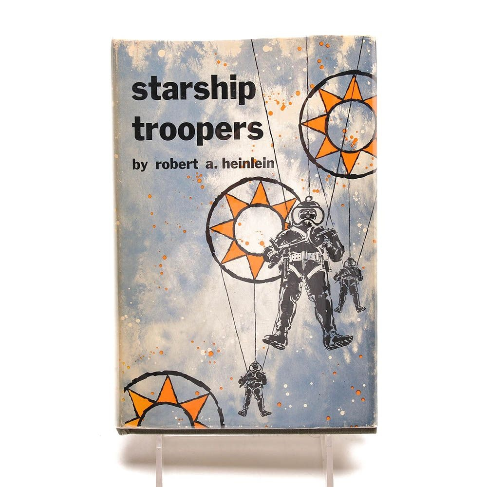 "Signed Robert Heinlein ""Starship Troopers"""