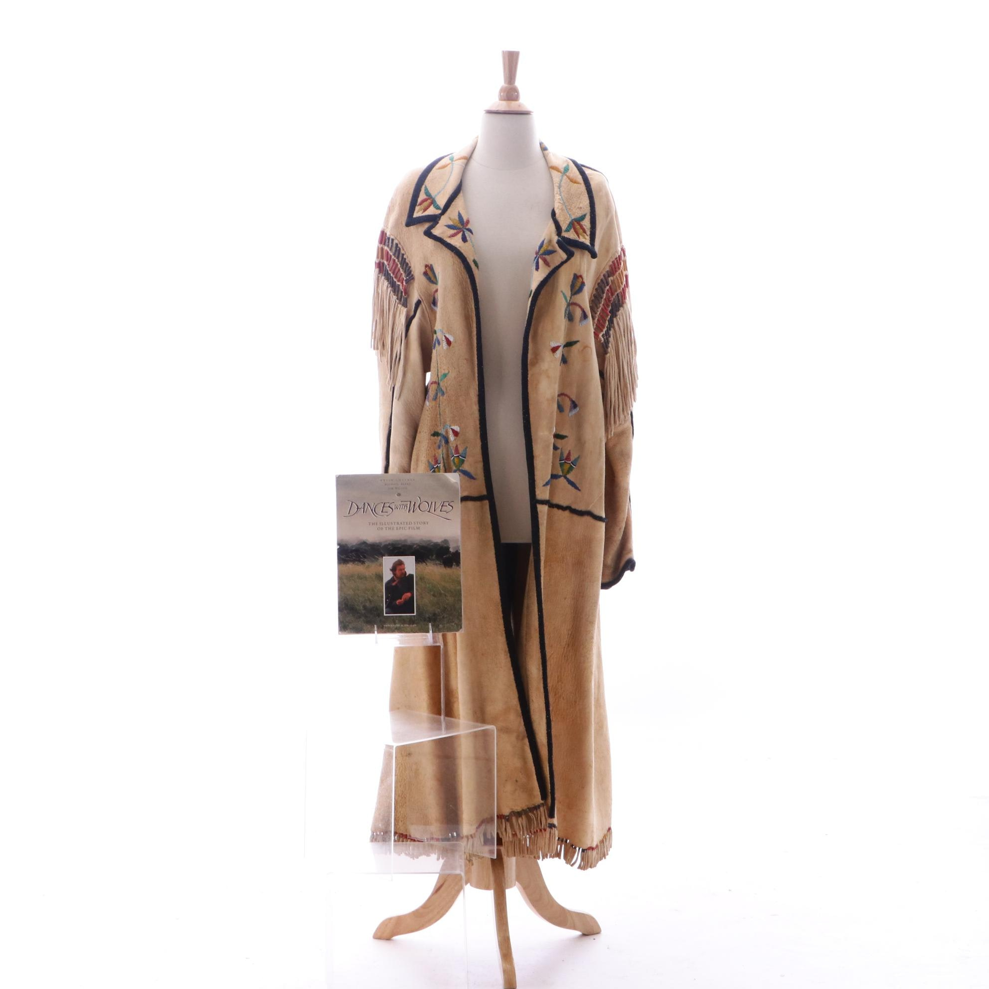 Native American Sioux Style Beaded Coat