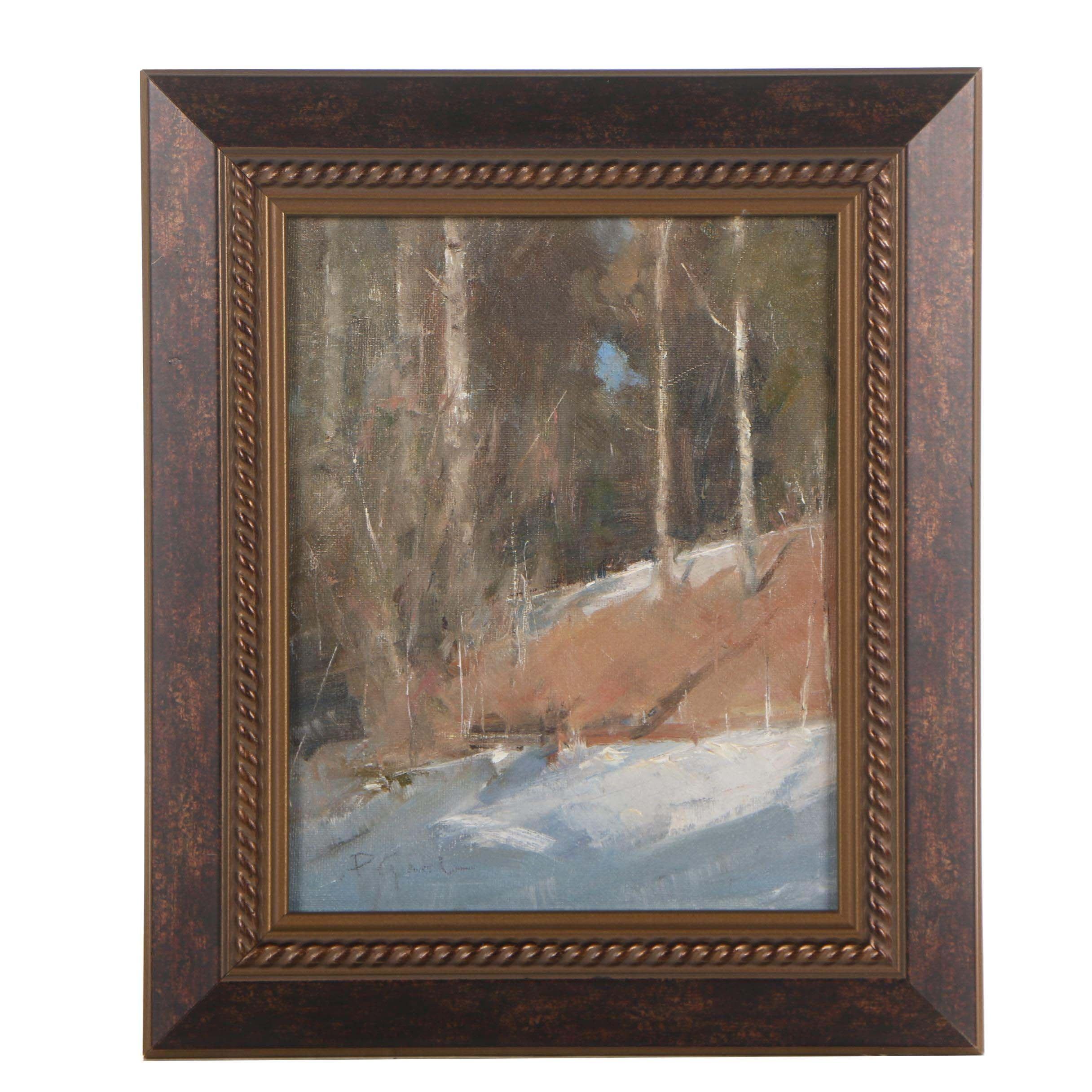 "Peter Grab 2018 Oil Painting ""Pueblo Canyon"""