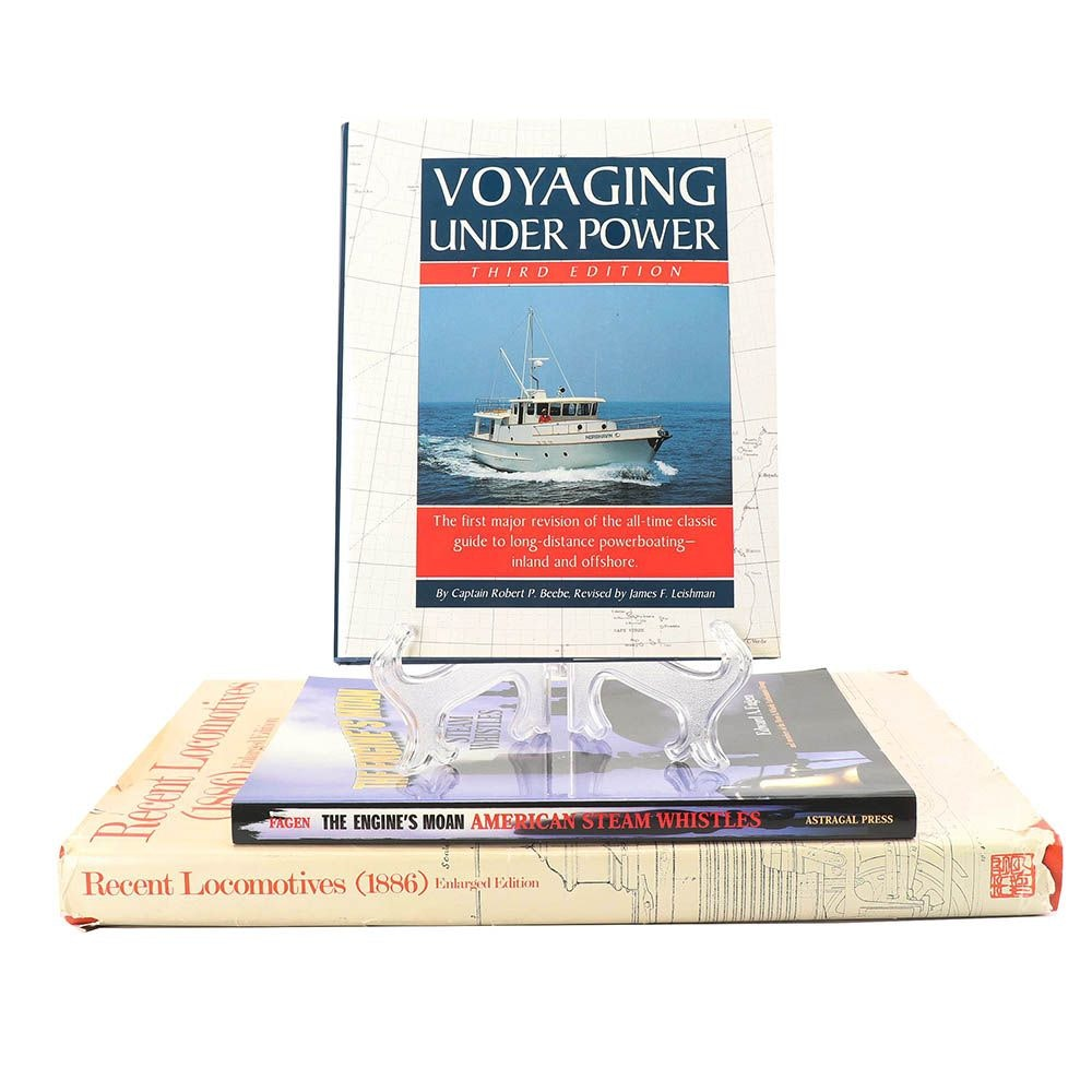 Books on Railways, Locomotives and Power Boating