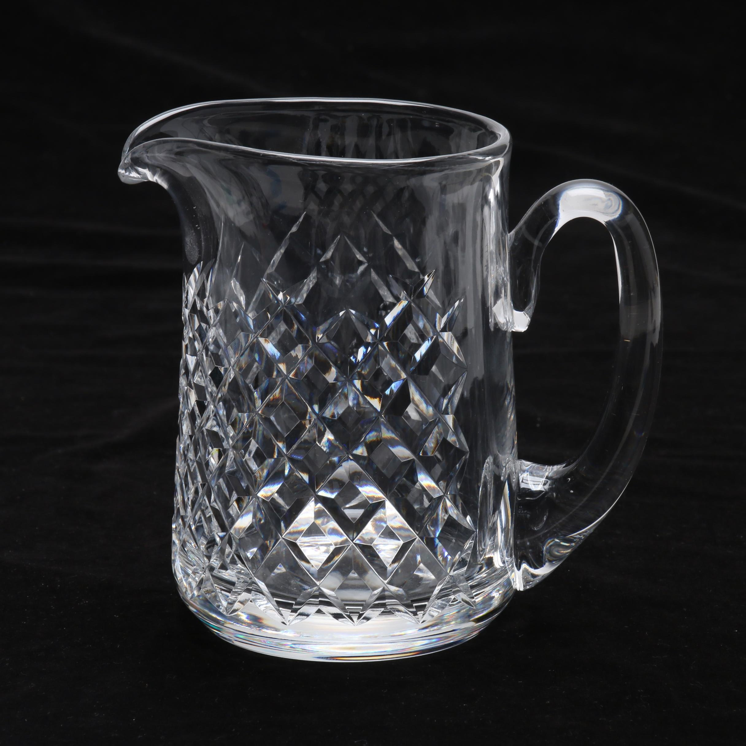 """Waterford """"Essence"""" Crystal Pitcher"""