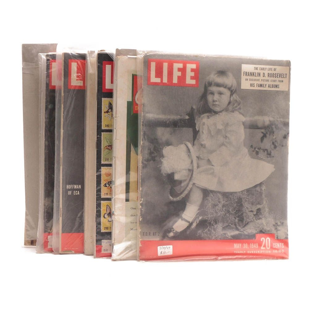 """Vintage """"Life"""" and """"Look"""" Magazines"""
