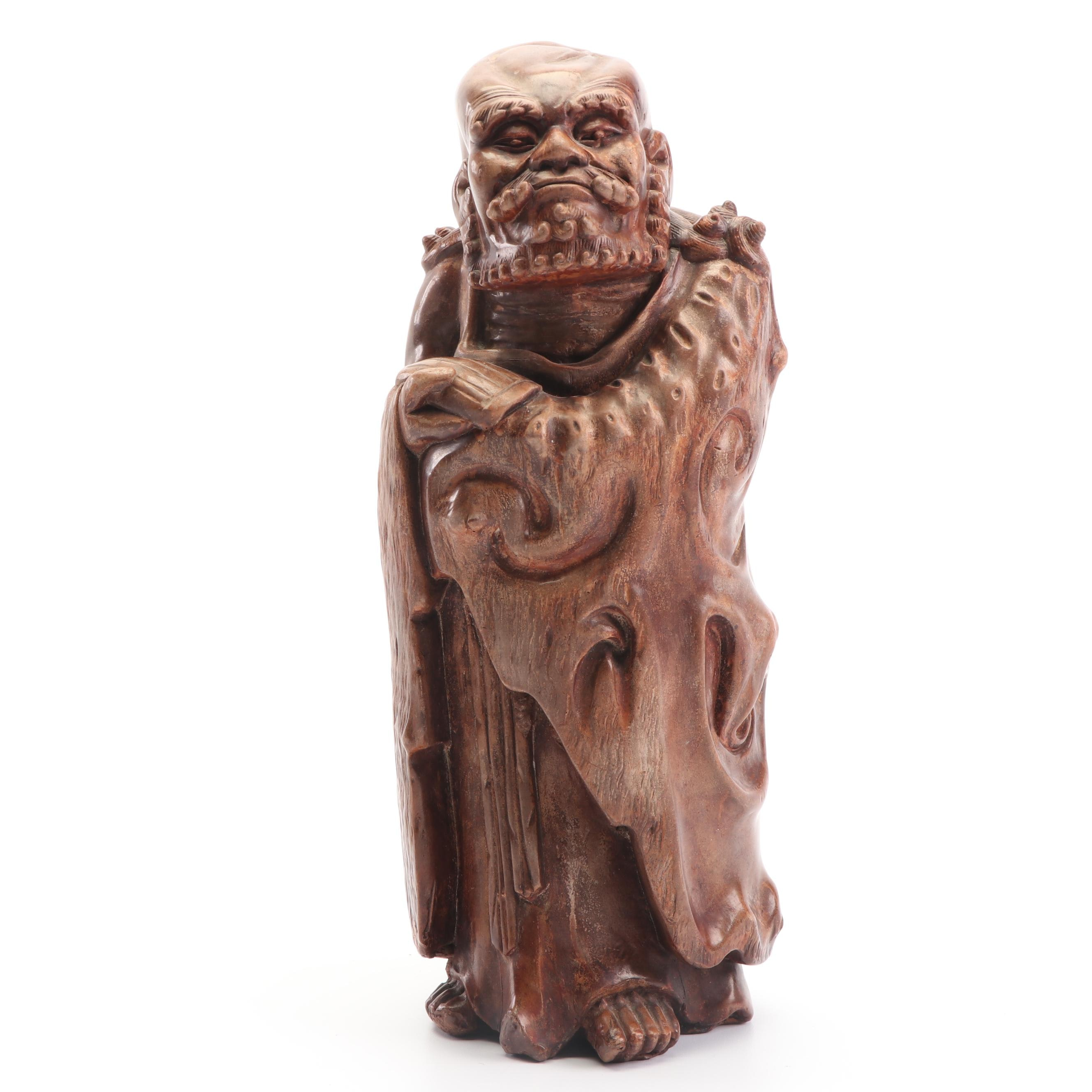 Chinese Cast Resin Immortal Figure