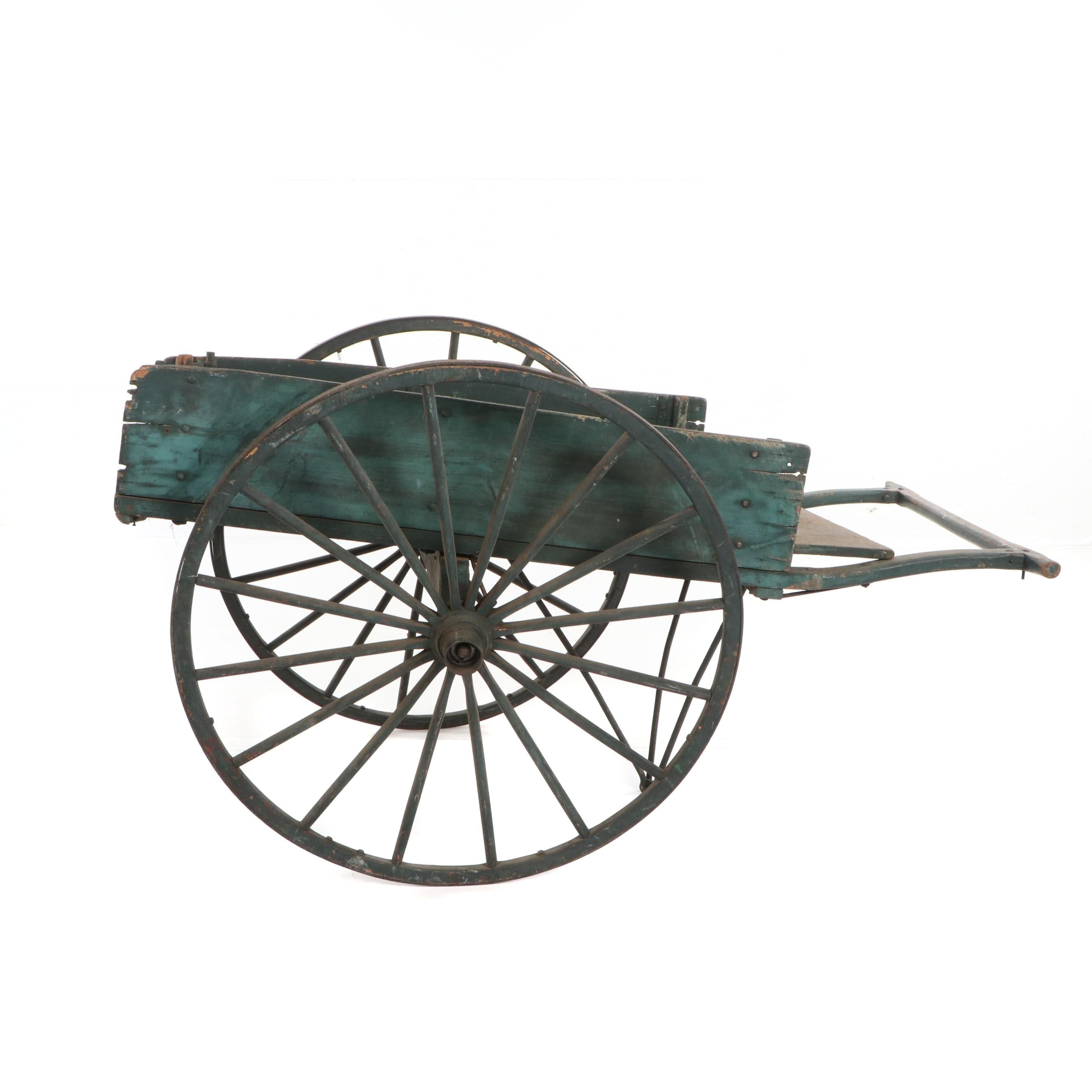 Two-Wheeled Cart, Late 19th/ Early 20th Century