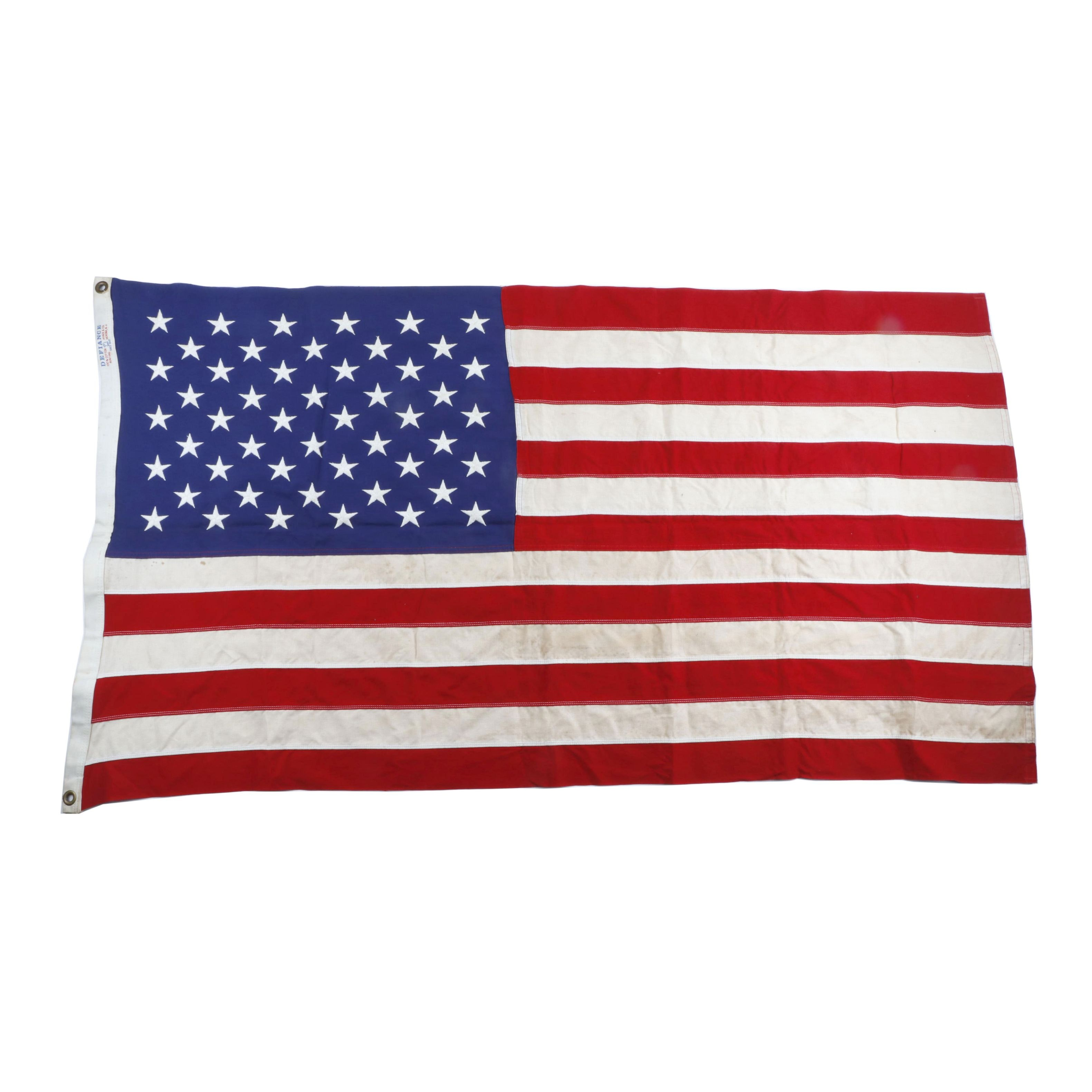 Vintage Annin Flagmakers 50 Star American Flag