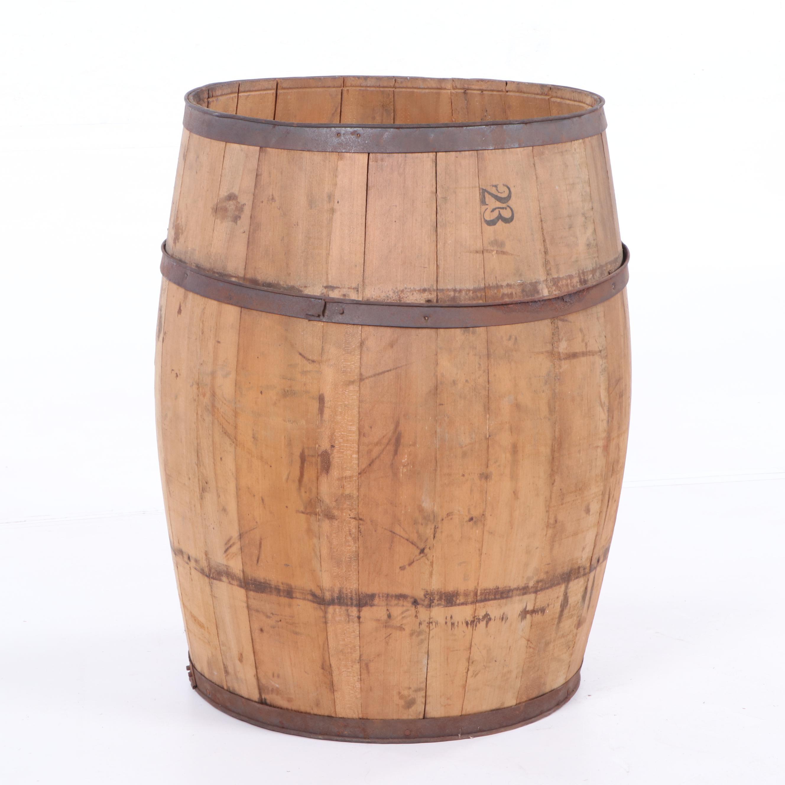 Antique Oak #23 Barrel