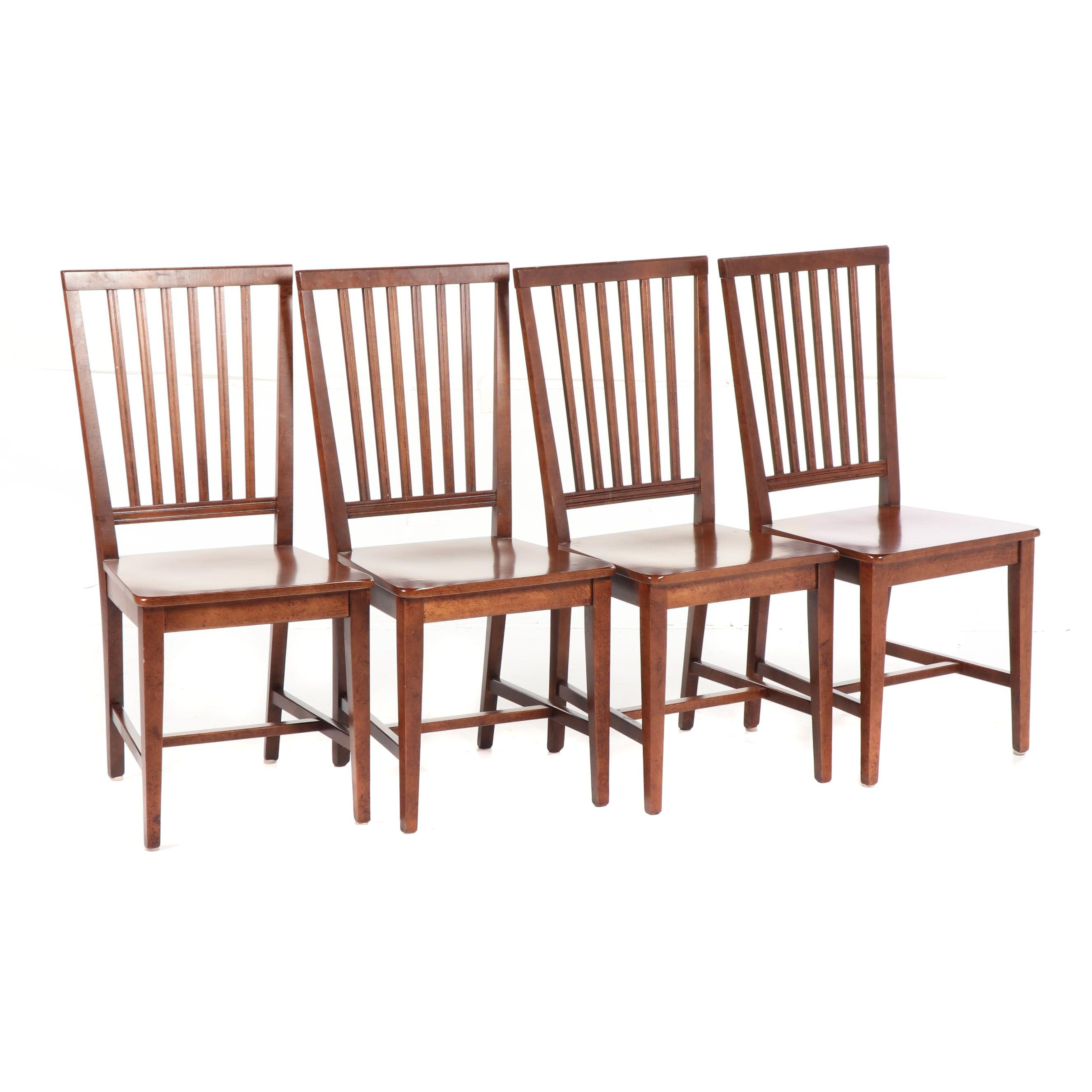 Contemporary Wood Dining Chairs by Buying and Design