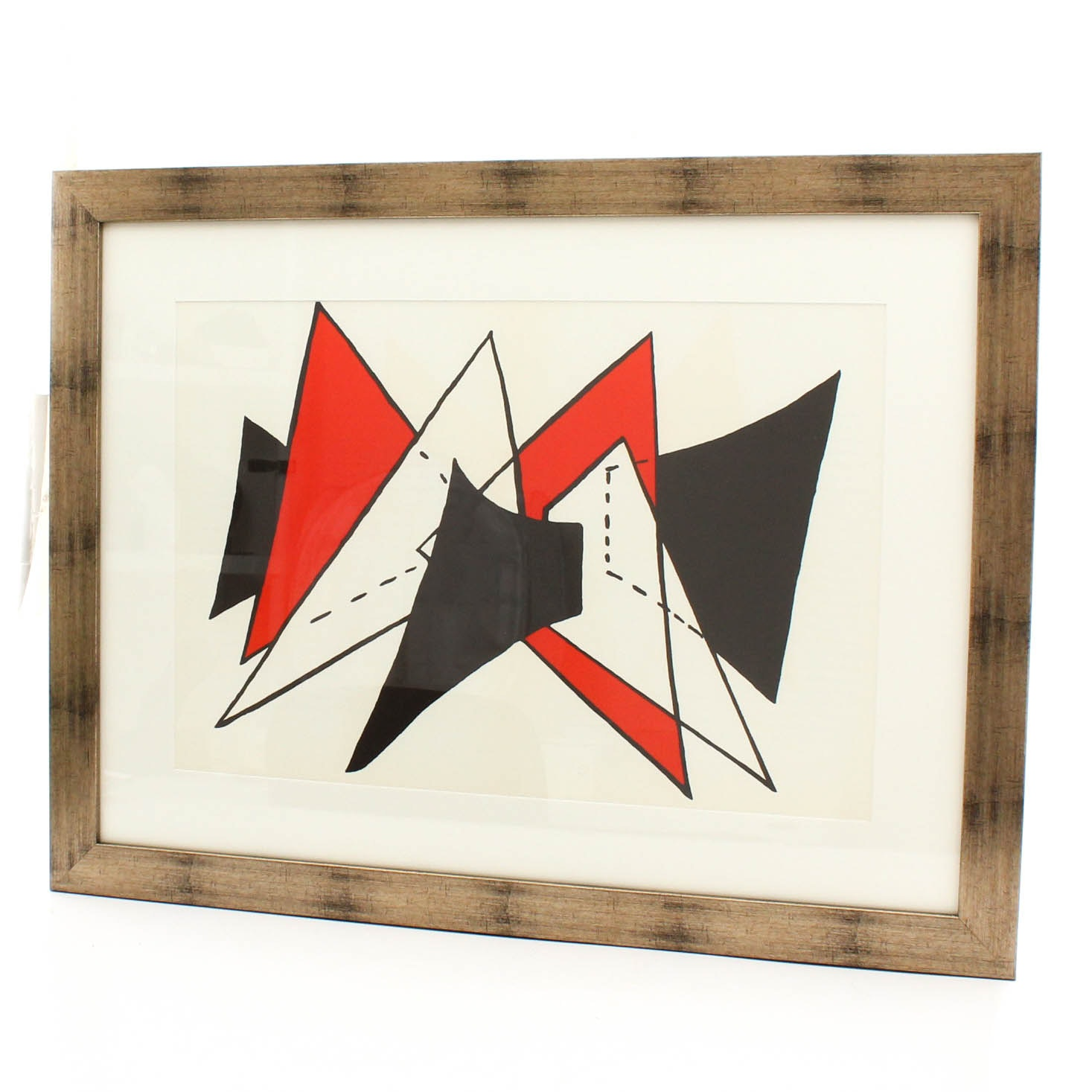 "Alexander Calder Color Lithograph for ""Derriere le Miroir"""