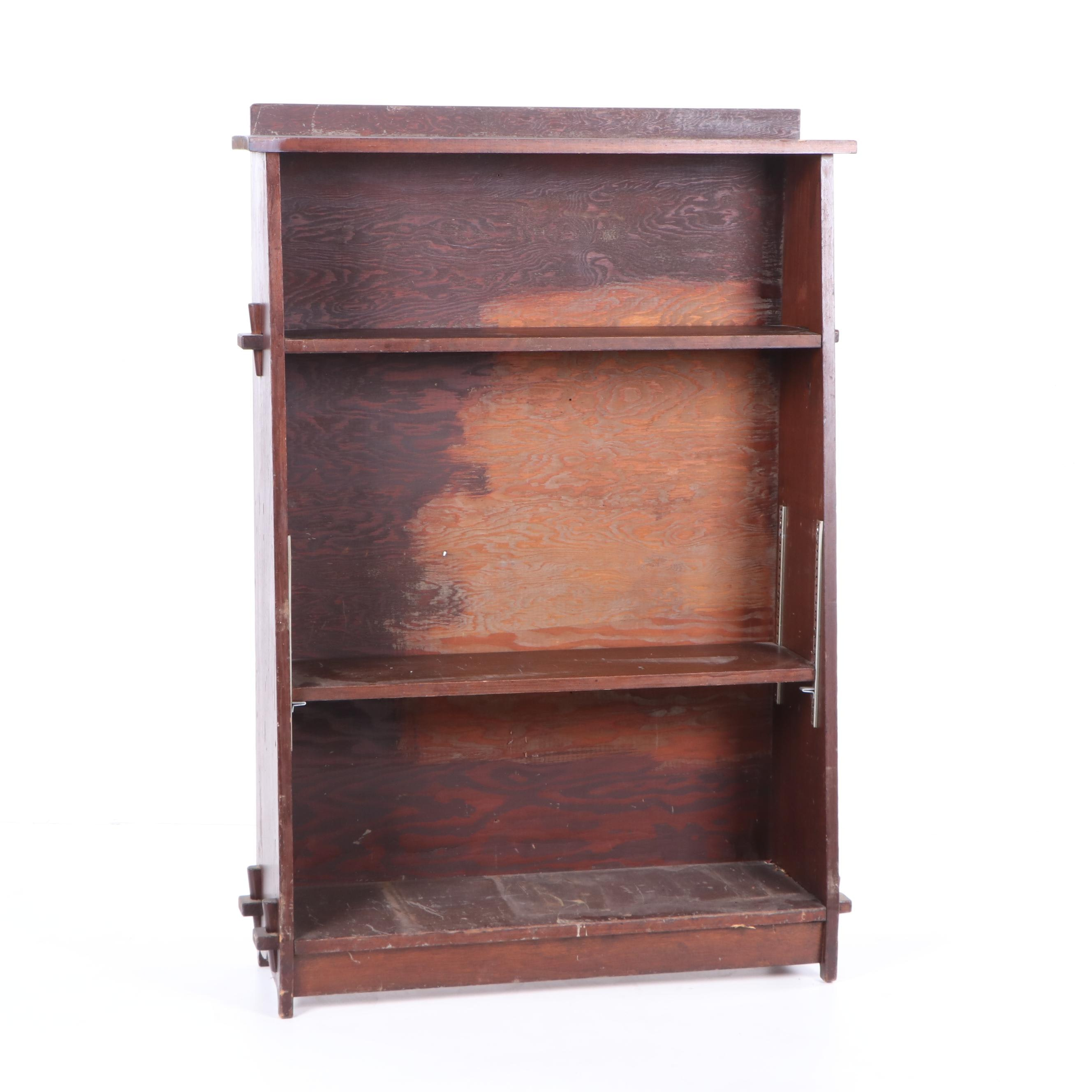 Arts and Crafts Style Oak Bookcase, Early 20th Century