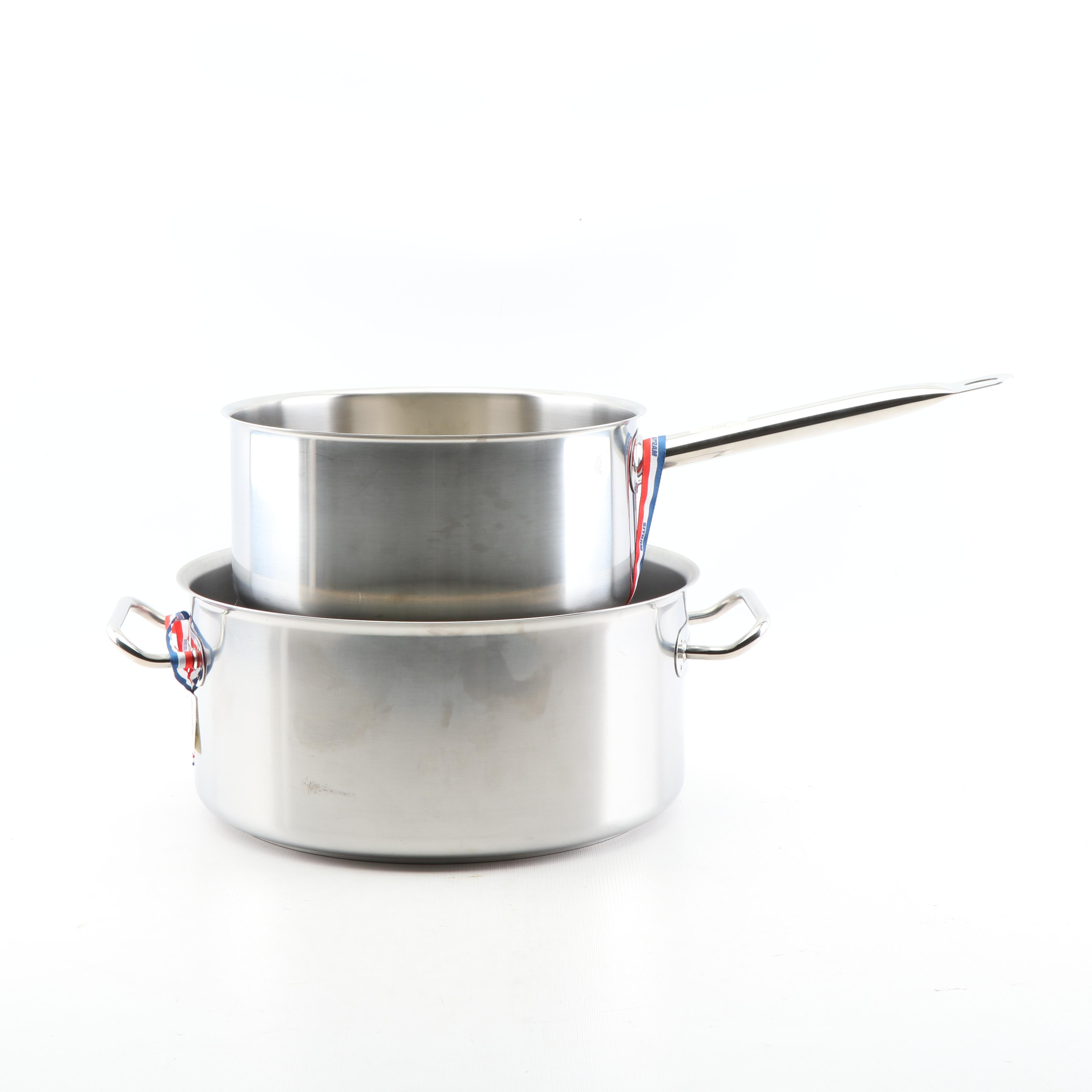 Sitram Stainless Steel Sauce Pan and Stockpot