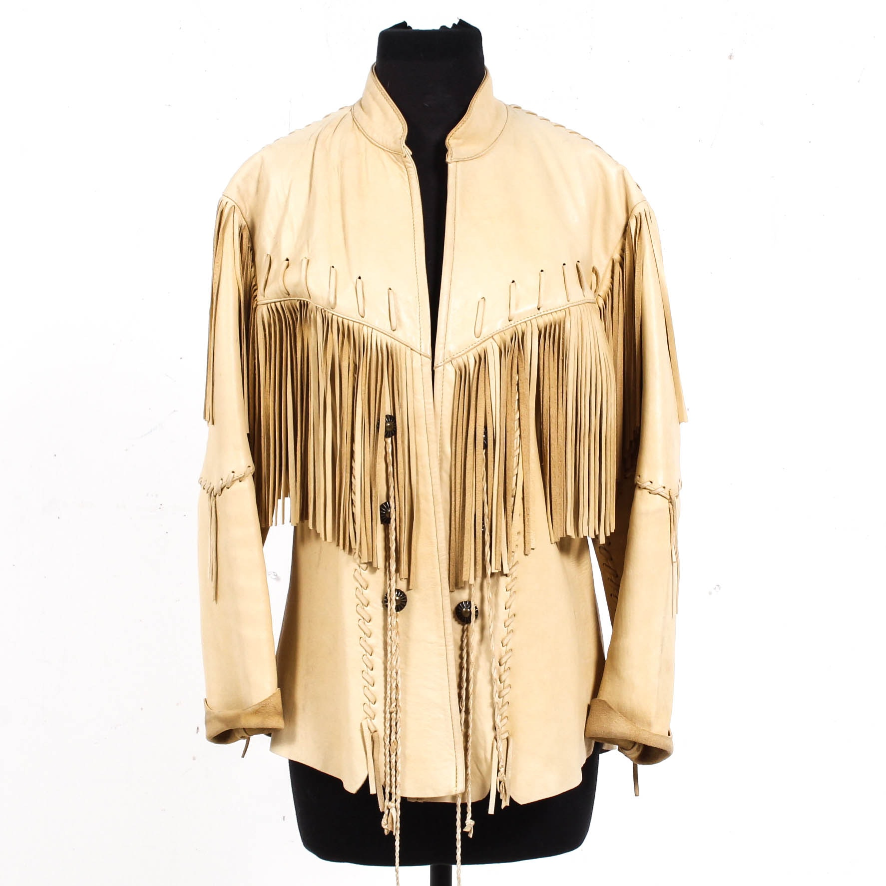 Sedona Leather Fringe Jacket