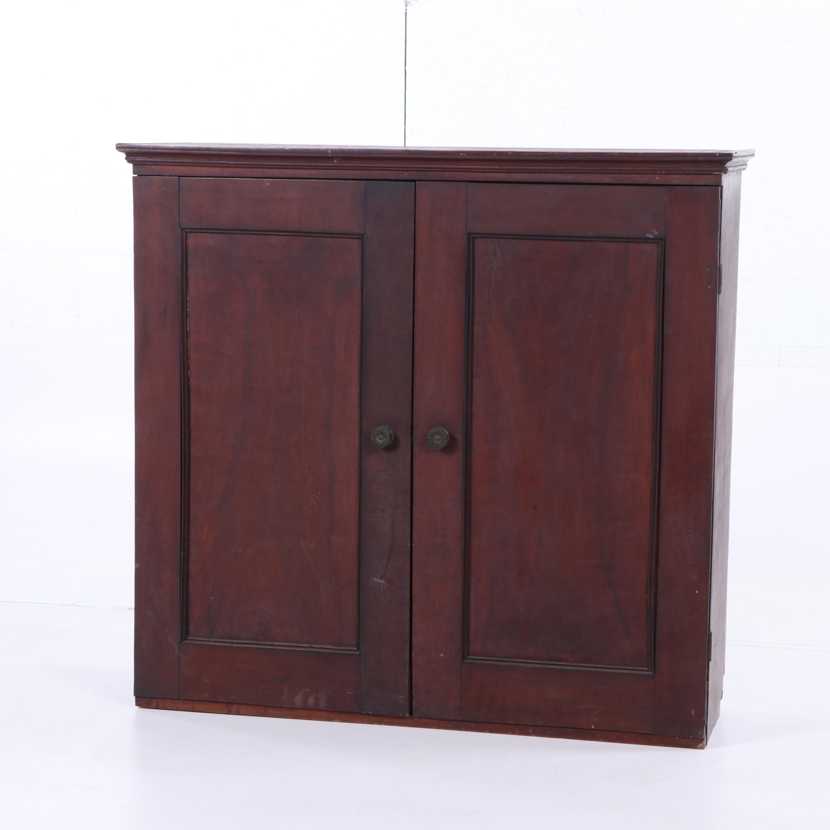 Mahogany Cupboard, Early 19th Century