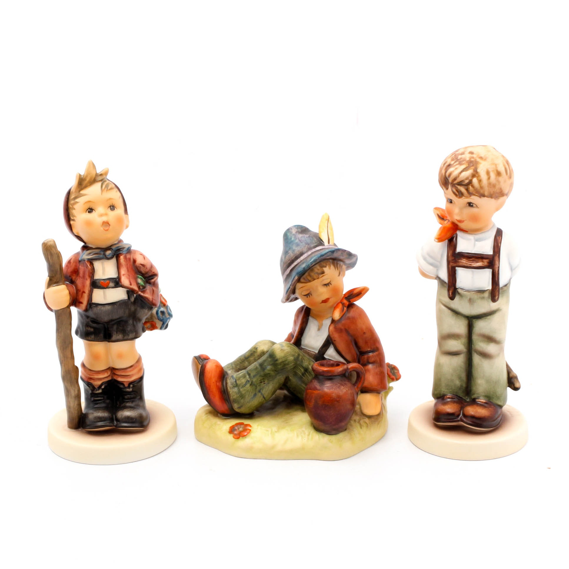 "Goebel Hummel Figurines Featuring ""I Didn't Do It"""