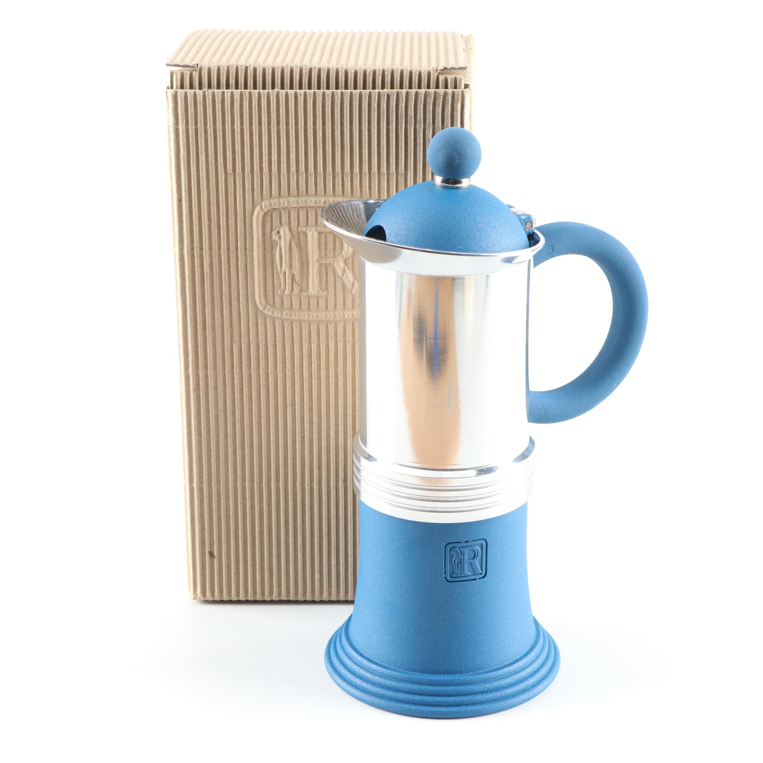 Regina Aluminum Reflex Moka Coffee Pot