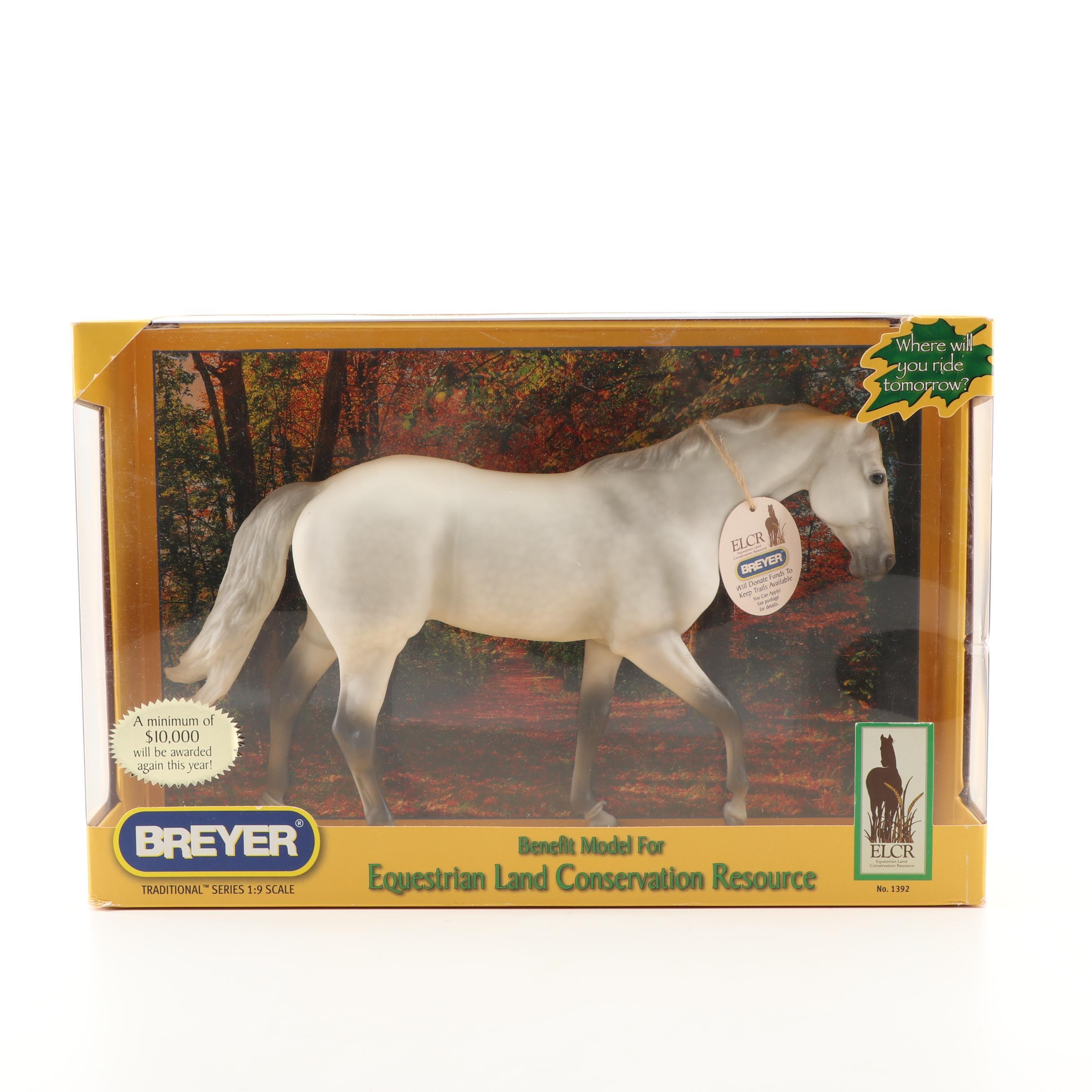2009 Equestrian Land Conservation Resource Benefit Breyer Model Horse