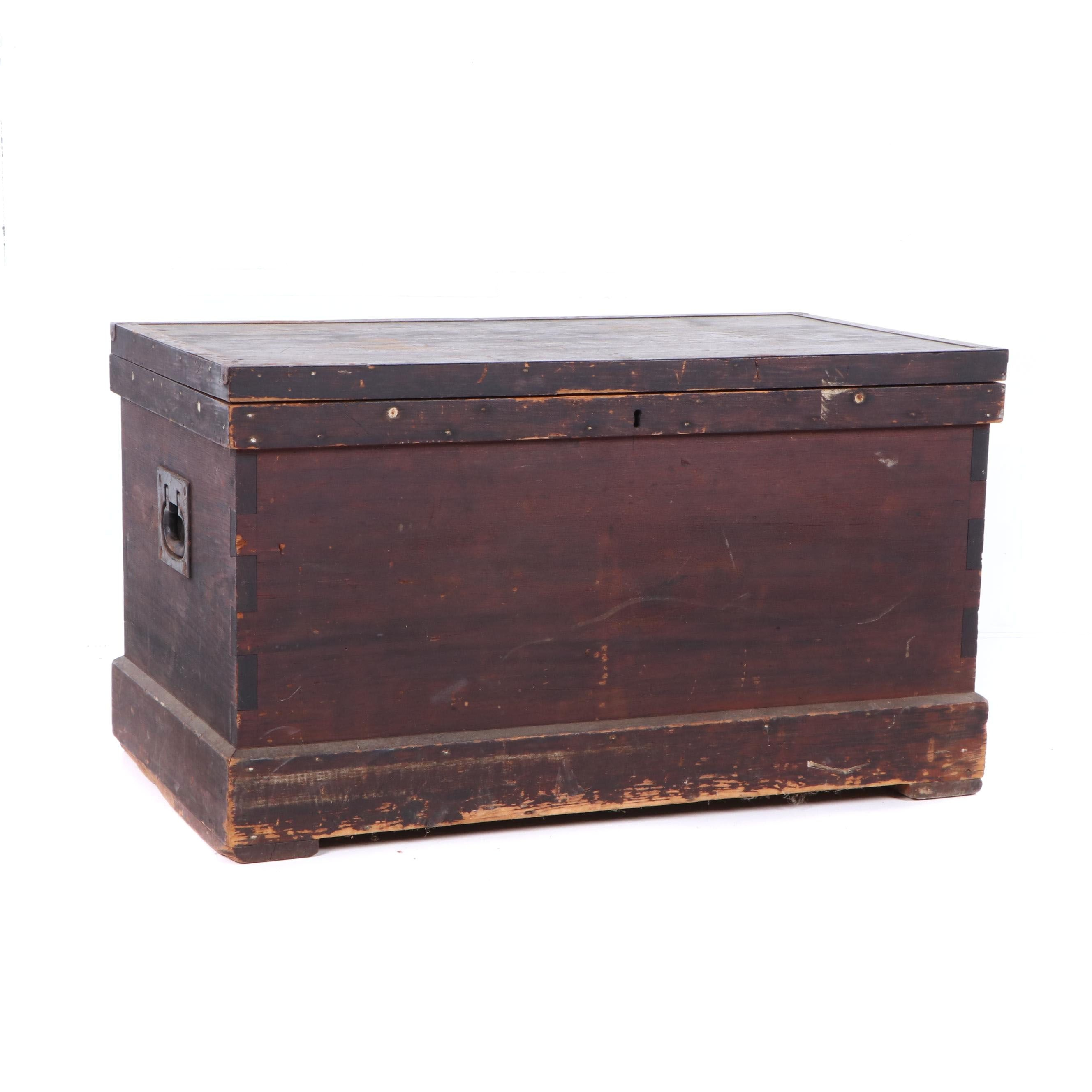 Mahogany Tool Chest by Allen & Noble, Early 19th Century