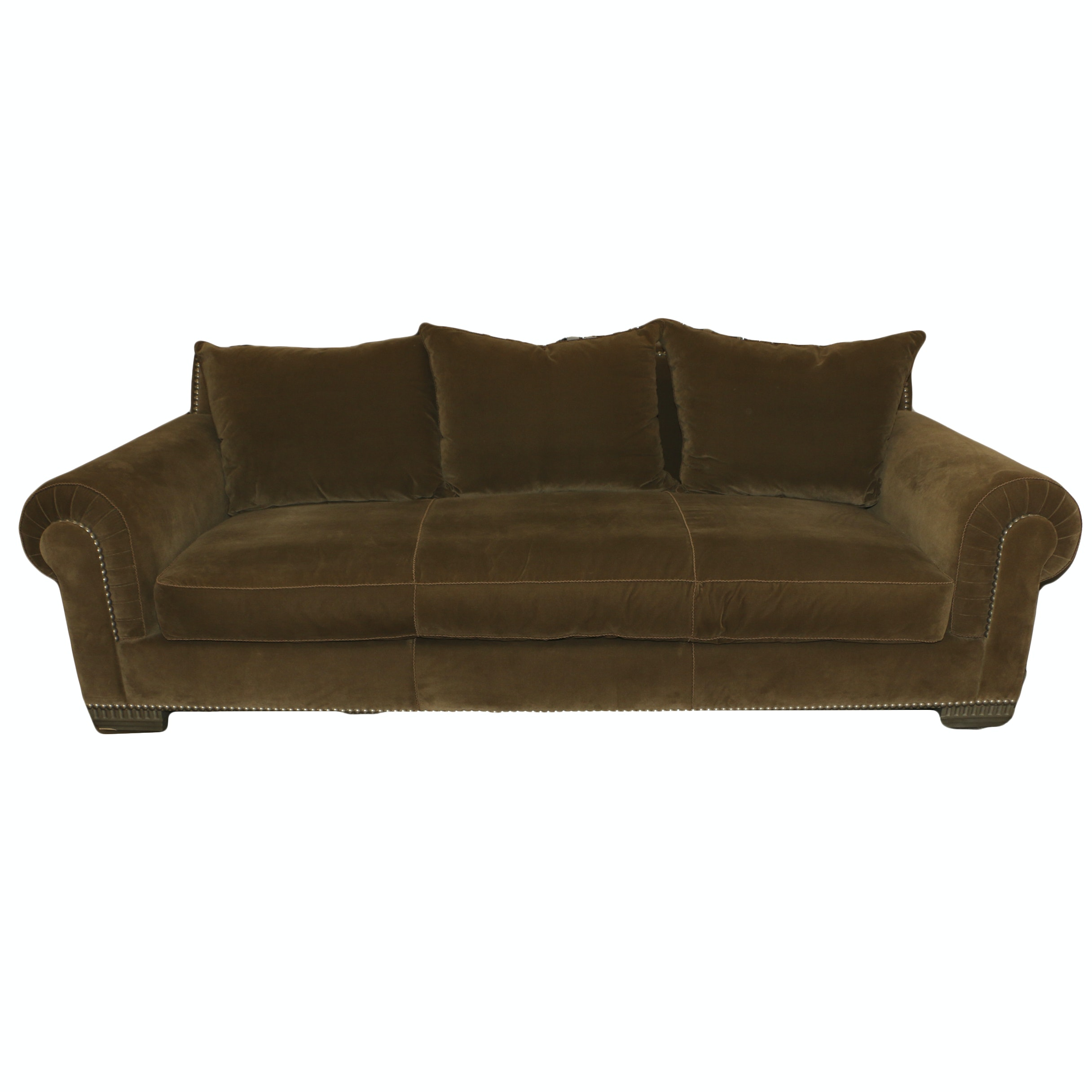 Upholstered Sofa by Marge Carson, 21st Century