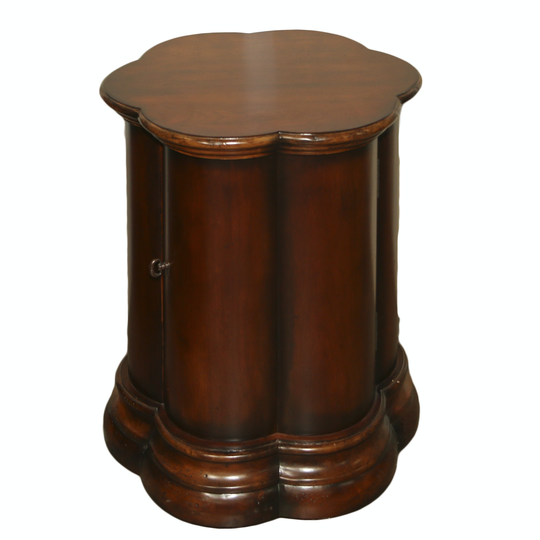 """""""Seven Seas"""" Wooden End Table Cabinet by Hooker Furniture, 21st Century"""