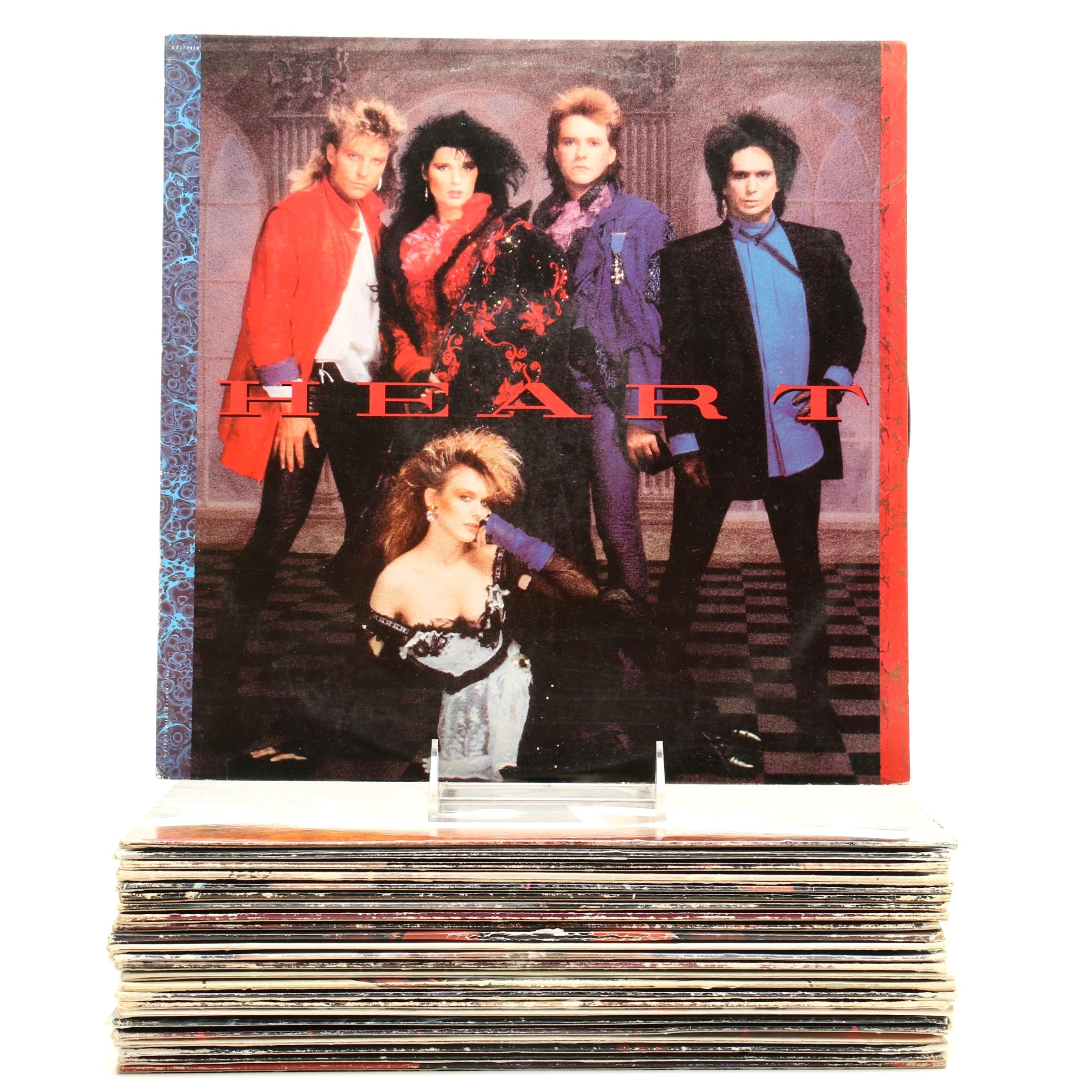 Popular 1980s Rock LP Records